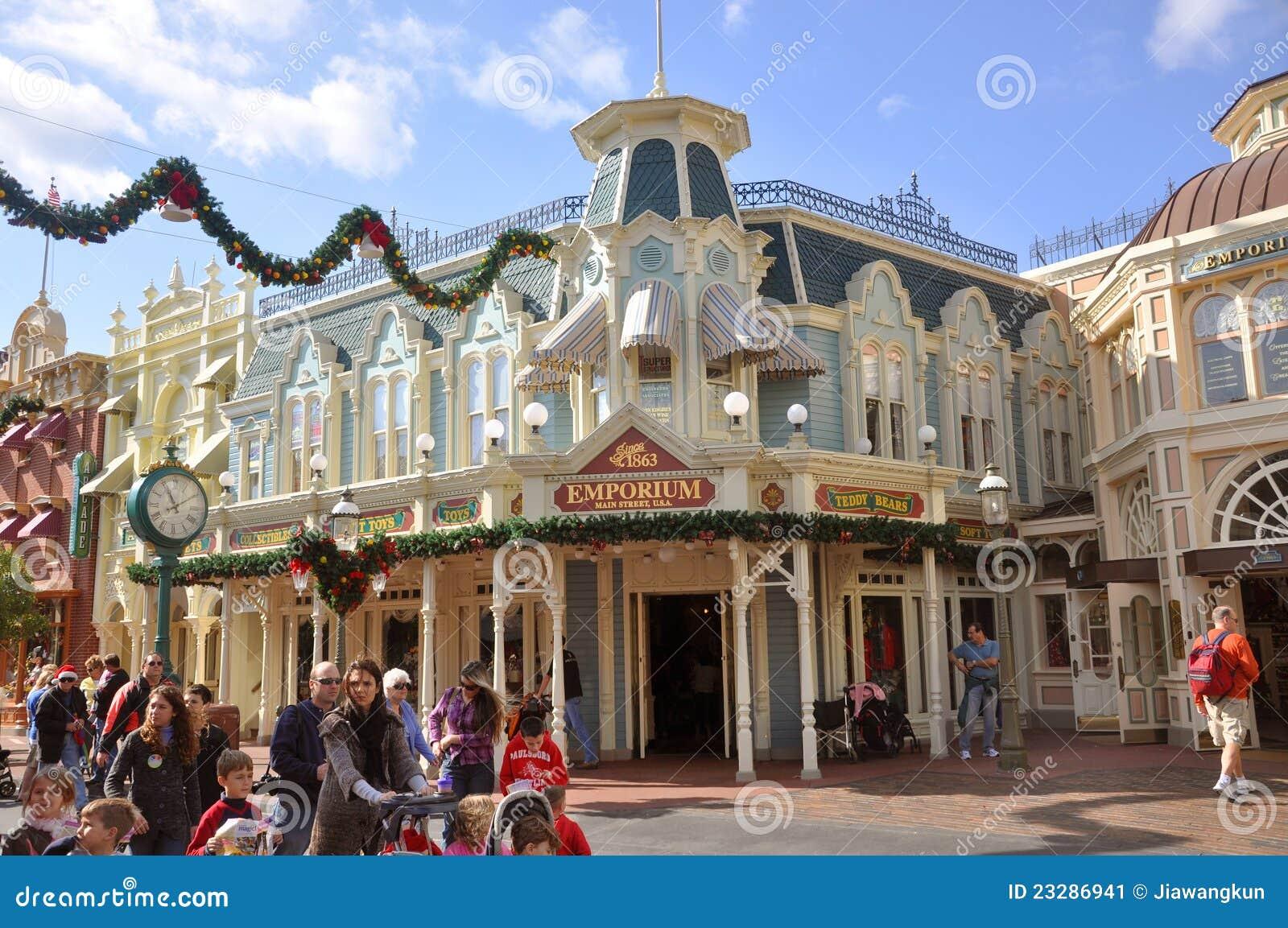 Emporium Store In Magic Kingdom Disney Editorial Photo Image Of