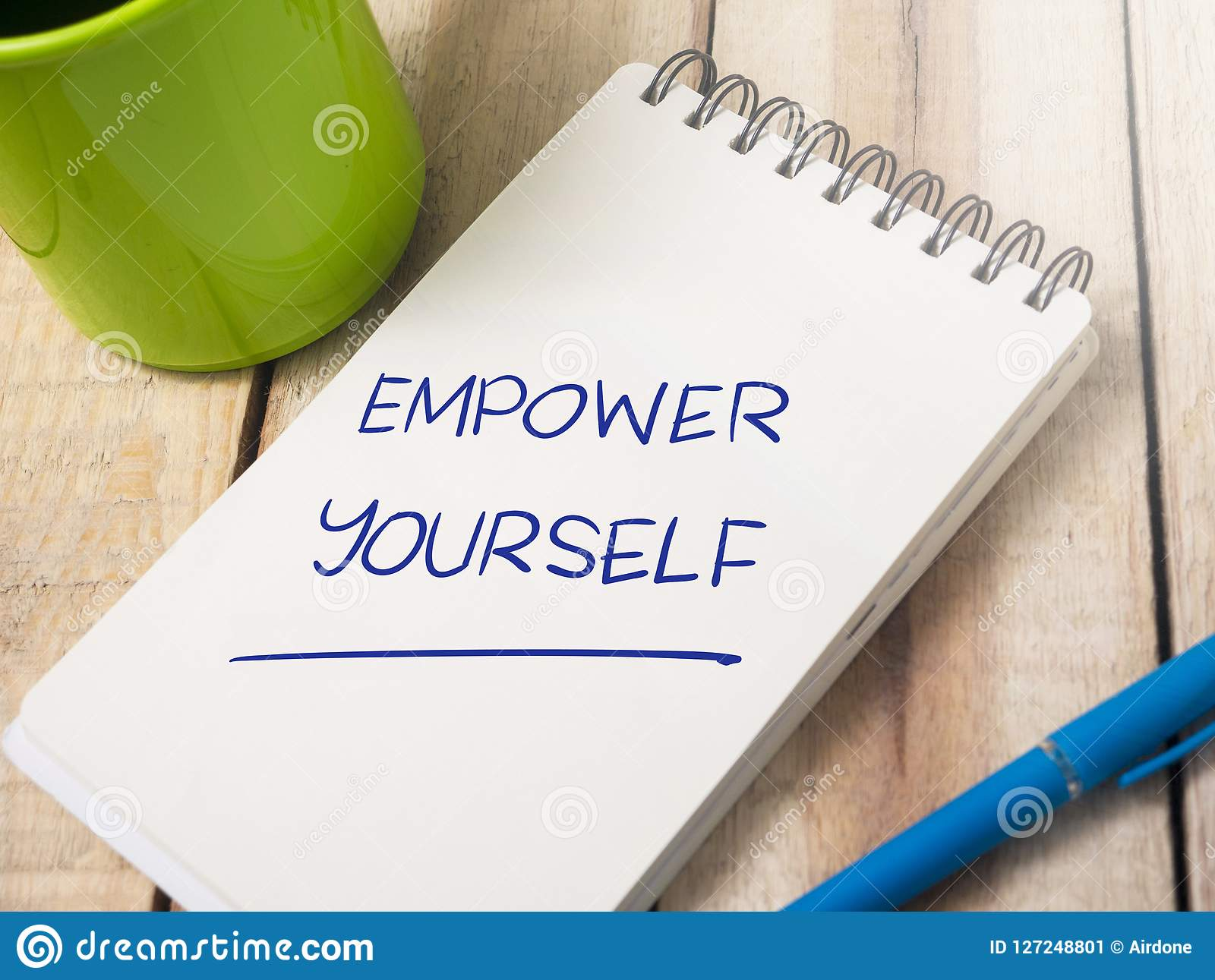 Empower Yourself Motivational Words Quotes Concept Stock Image