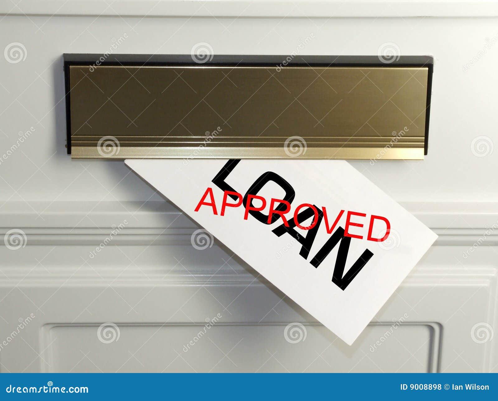 Empréstimo aprovado