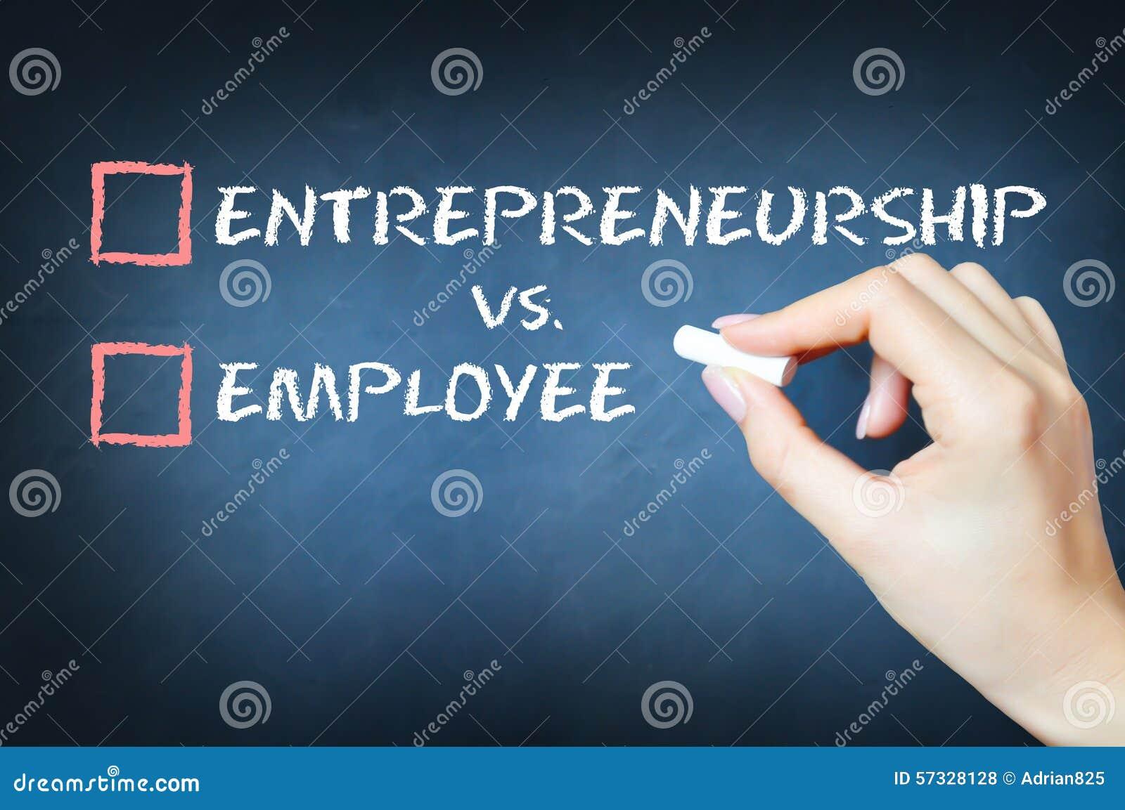 Empreendimento contra o conceito do empregado