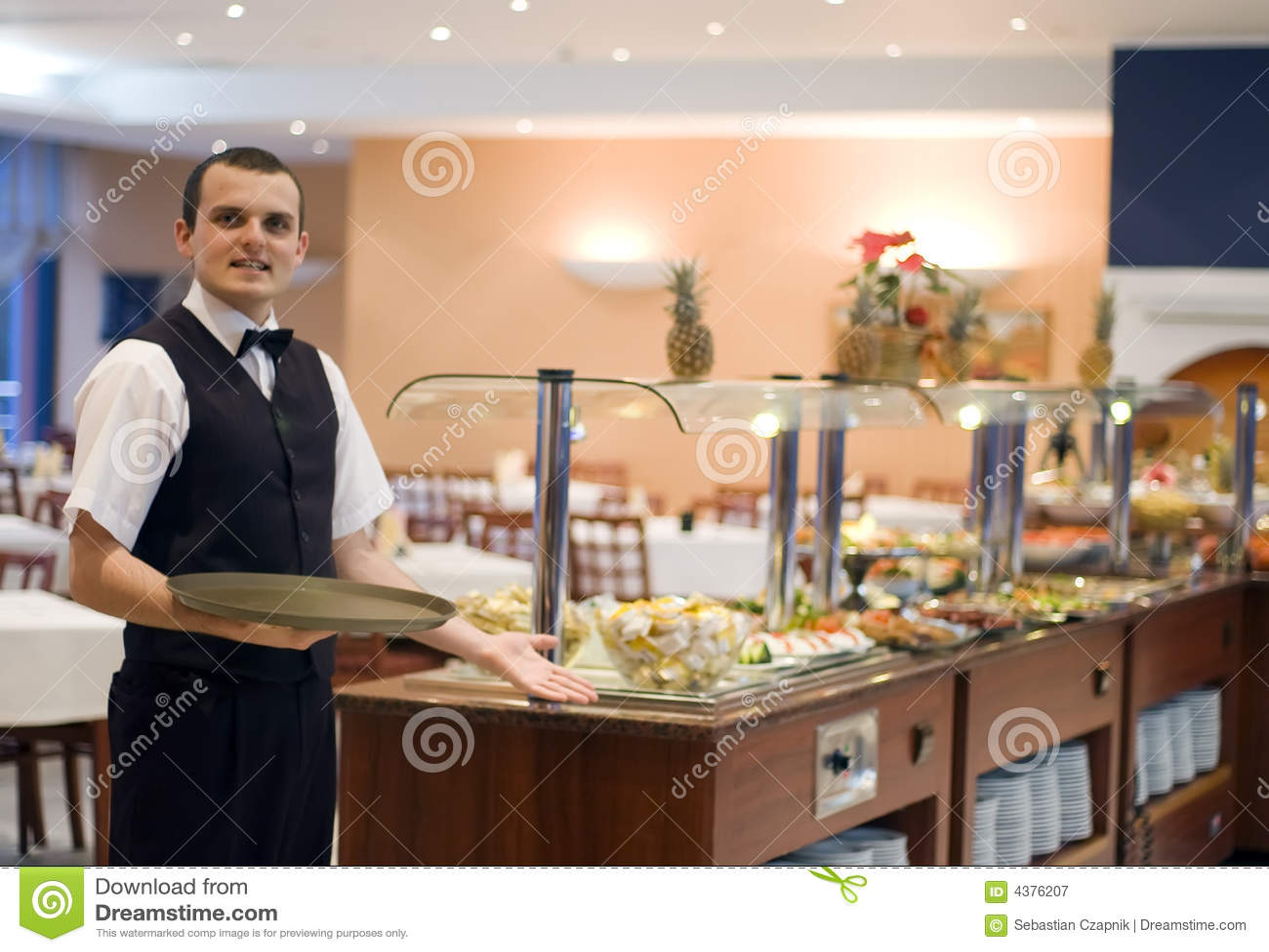 Empregado de mesa e bufete