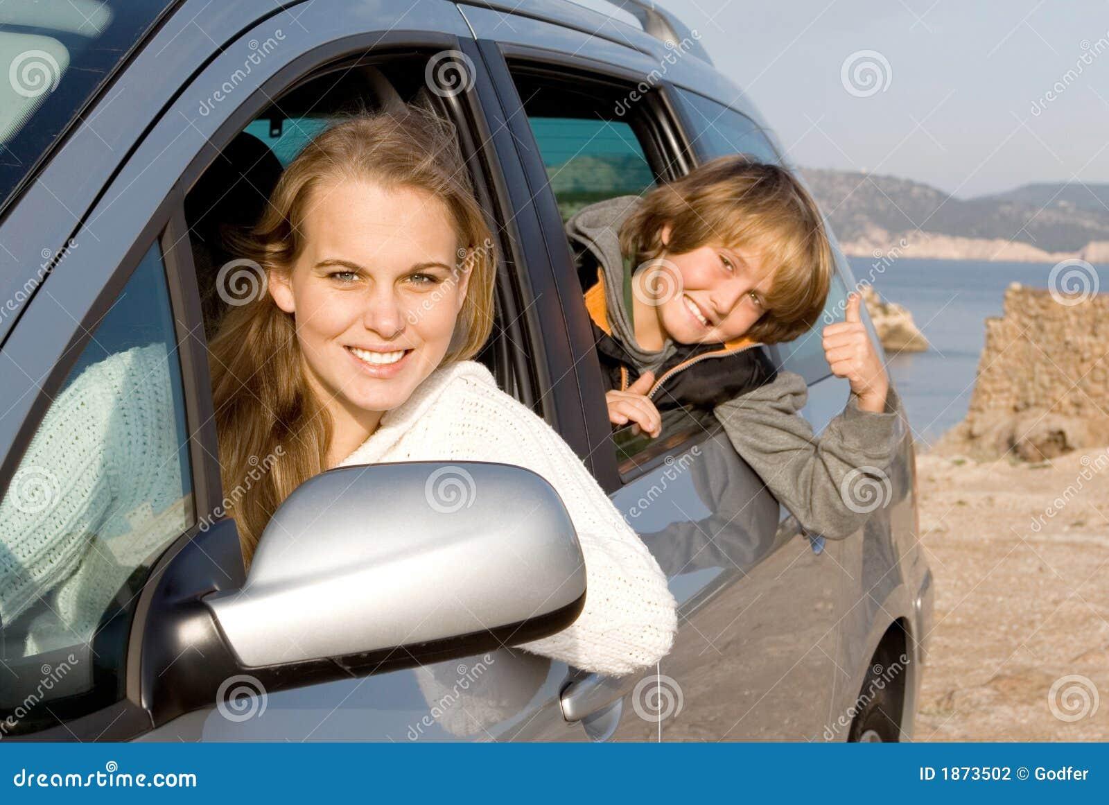 Empregue um carro