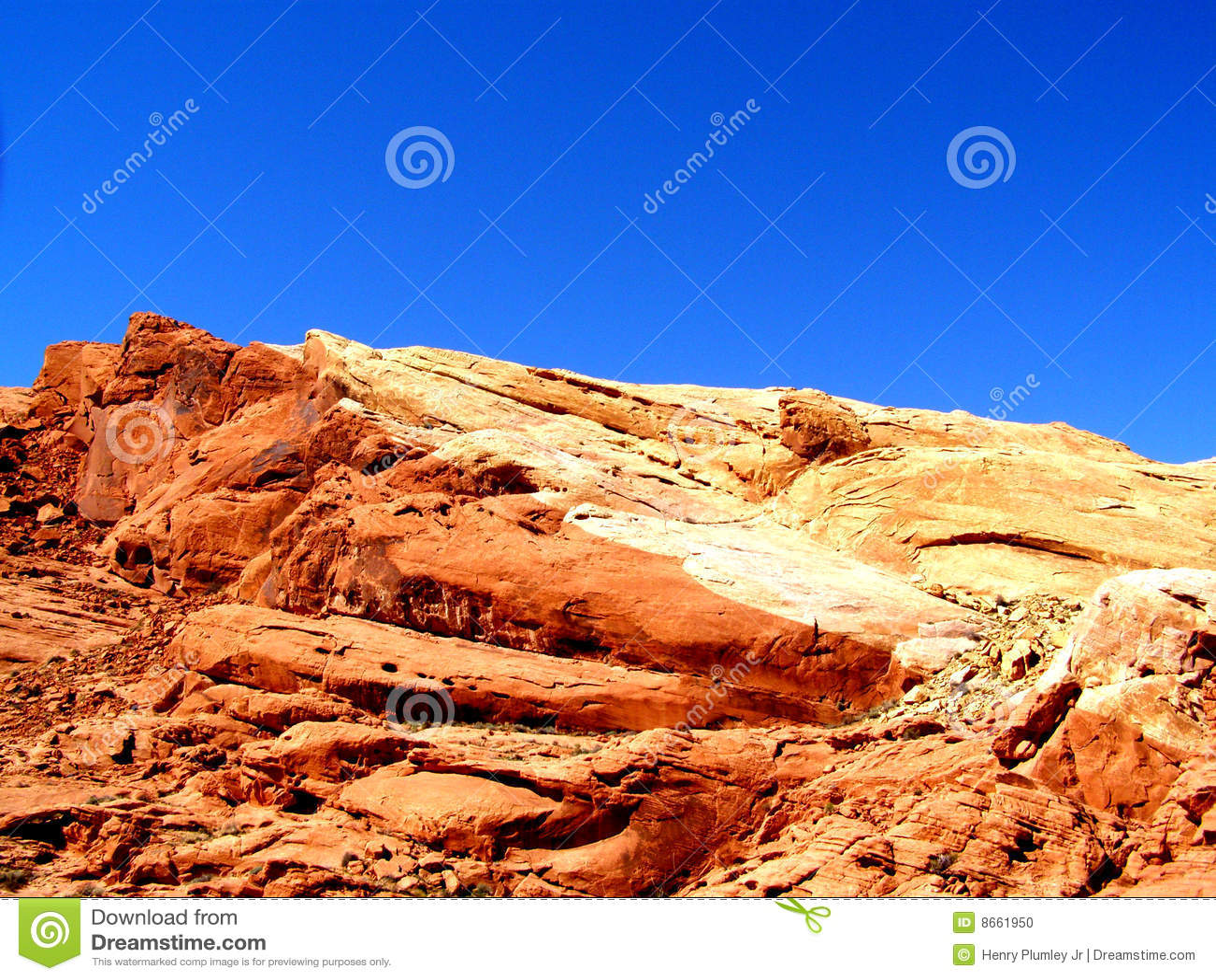 Empreinte digitale de désert