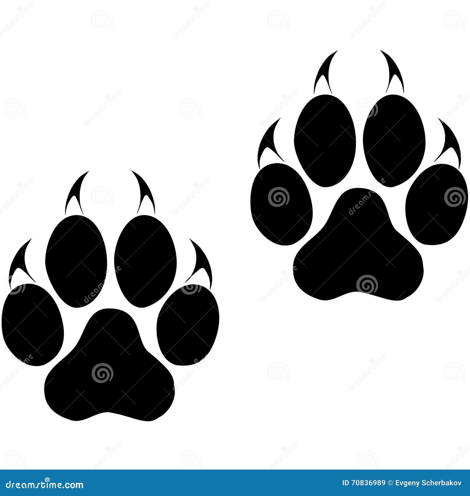 Image empreinte patte de chat galerie tatouage - Trace de patte de chat ...
