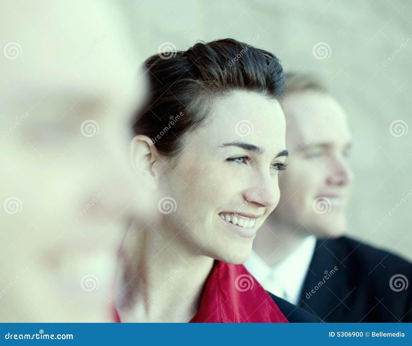 Empresários felizes