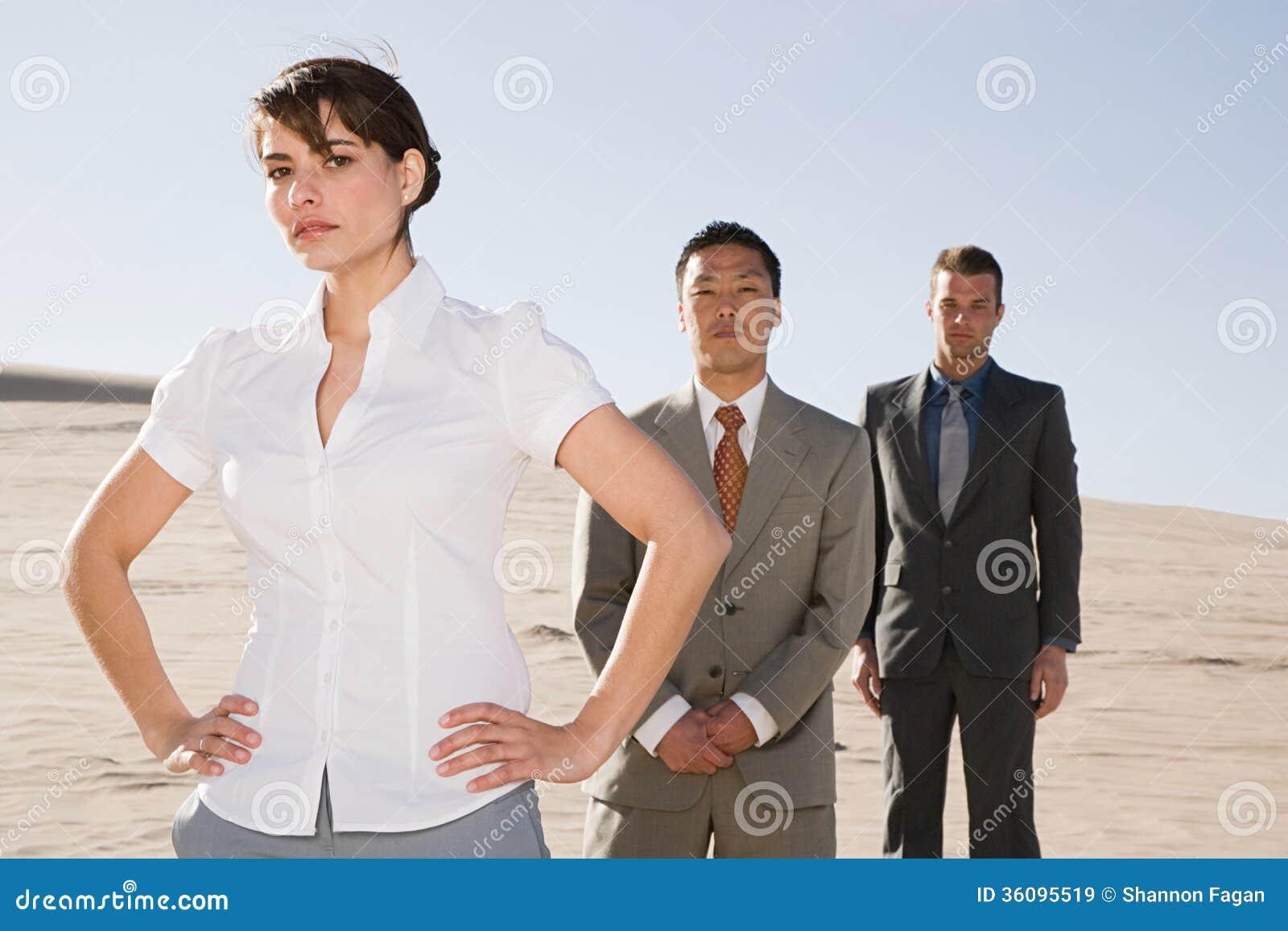 Empresários no deserto