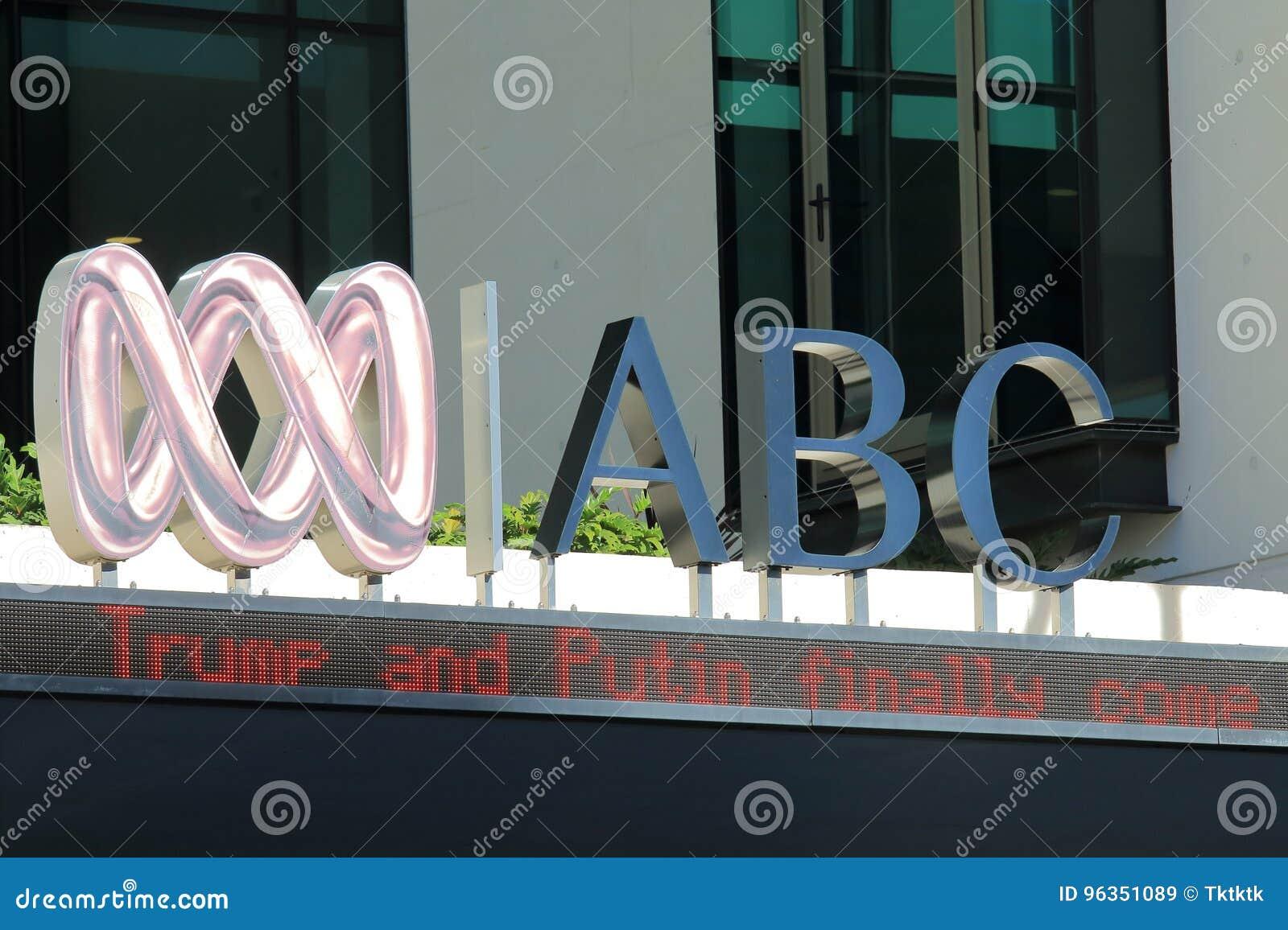 Empresa de difusão australiana Austrália de ABC