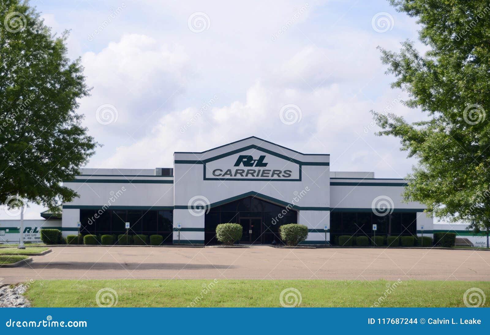 Empresa de transportes de los portadores de R&L