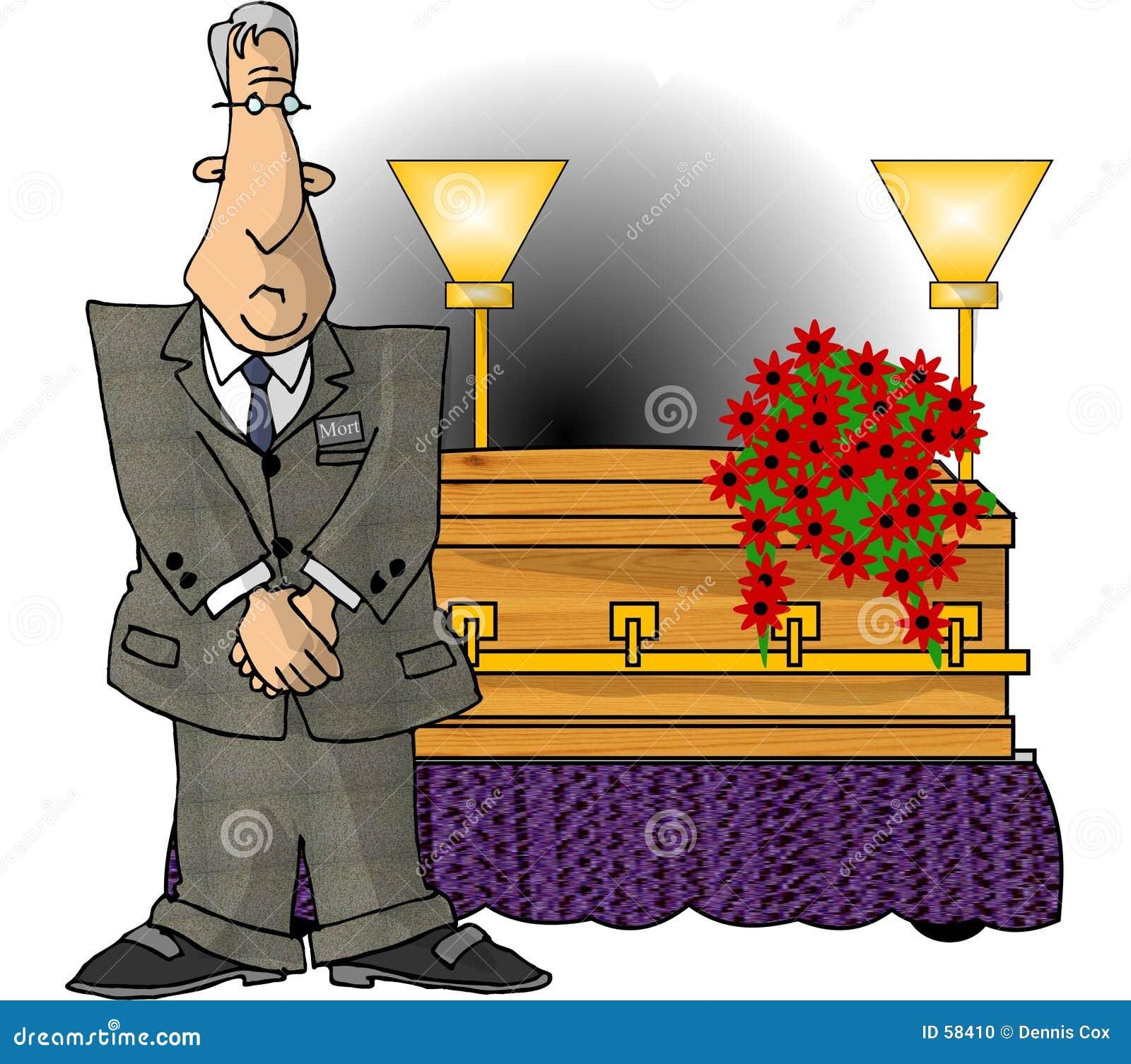 Empresario de pompas fúnebres