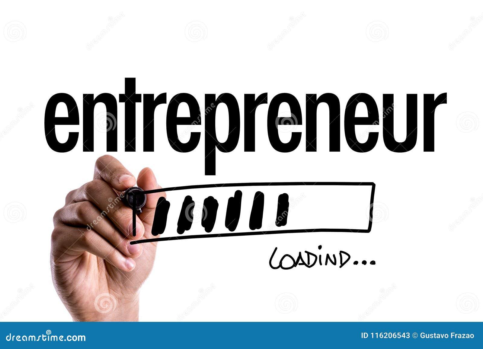 Empresario en una imagen conceptual