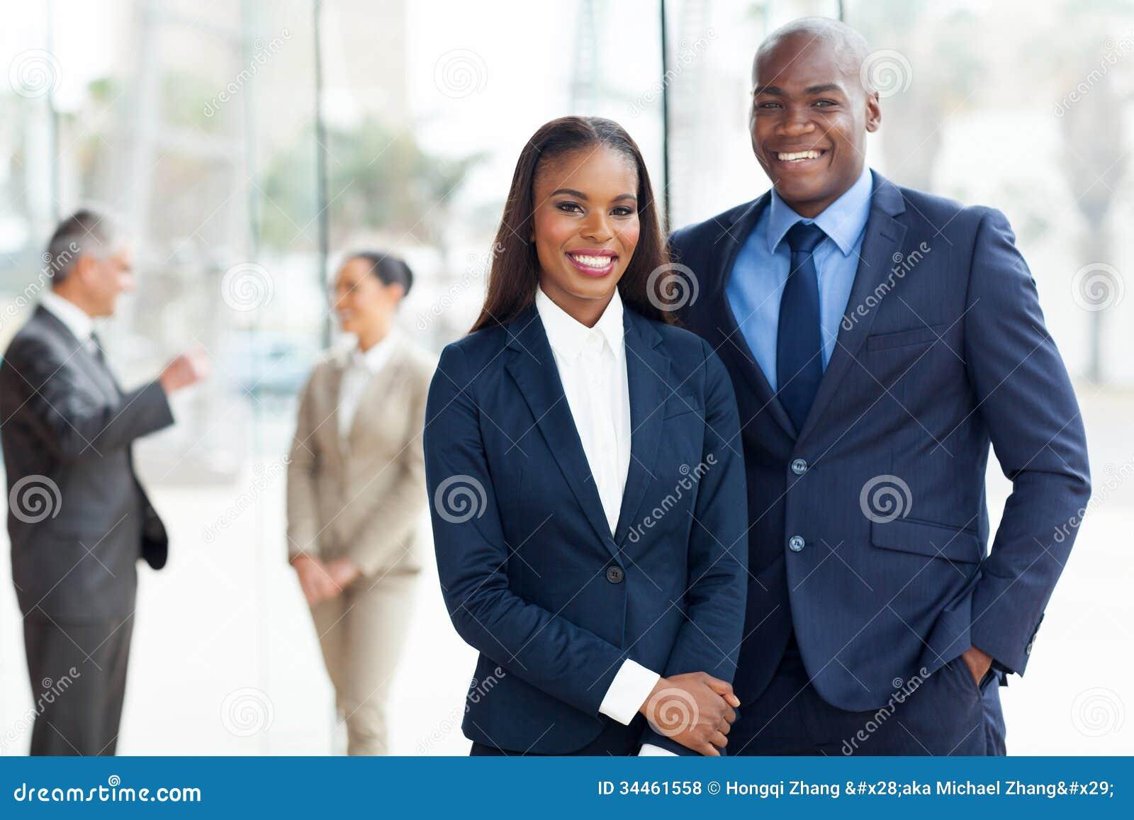 Empresarios afroamericanos