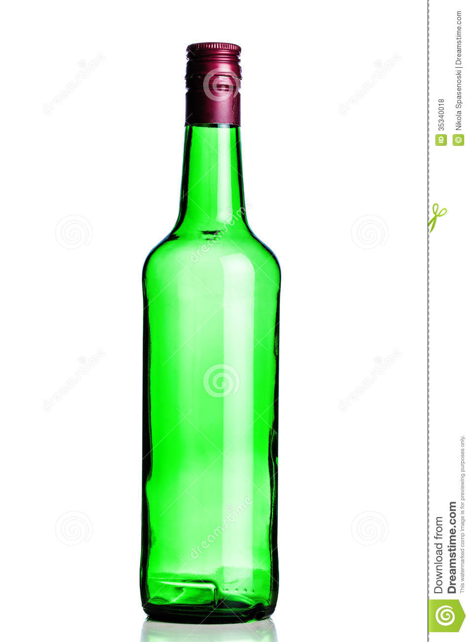 Empty Booze Bottle