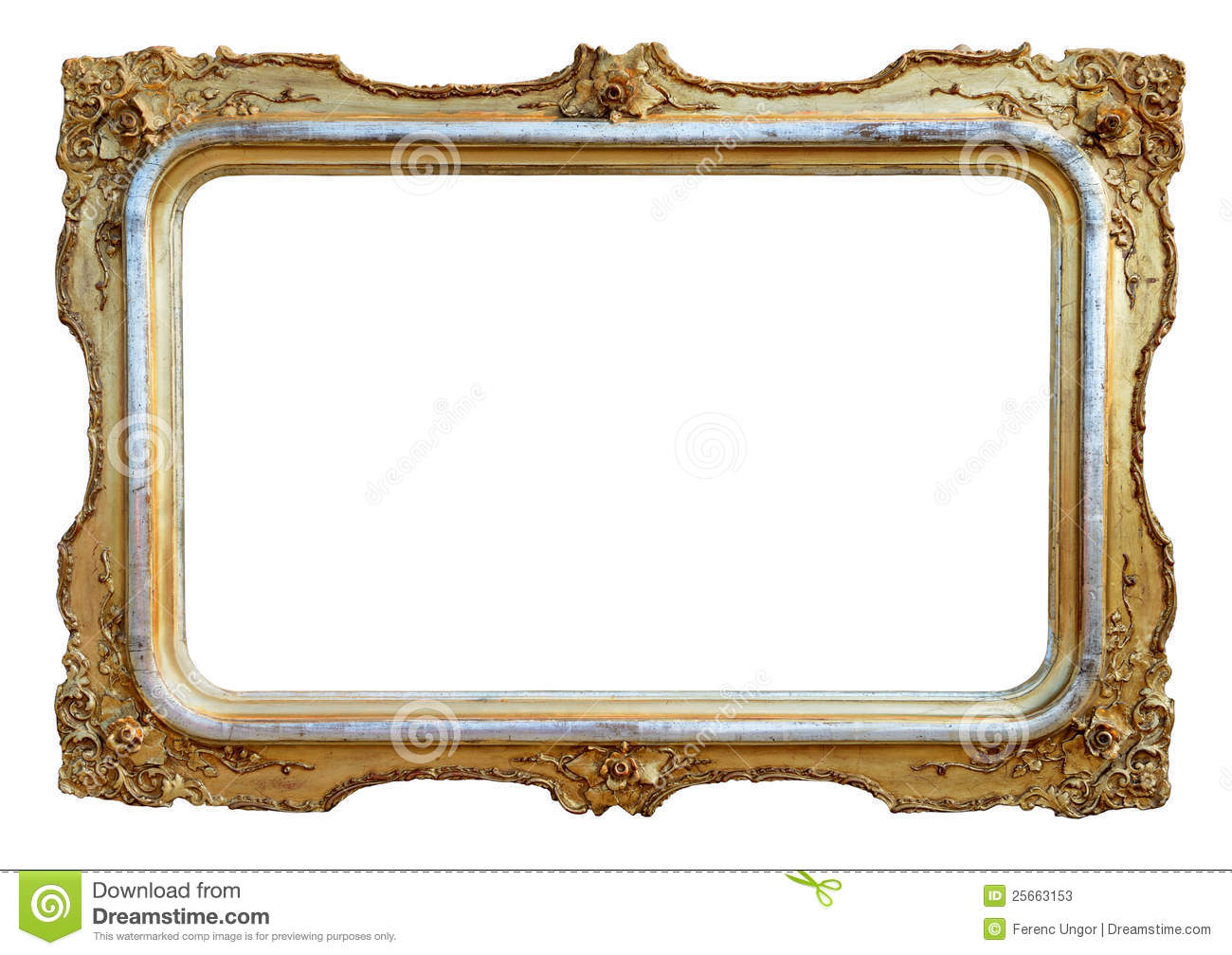 empty antique frame - Empty Picture Frame