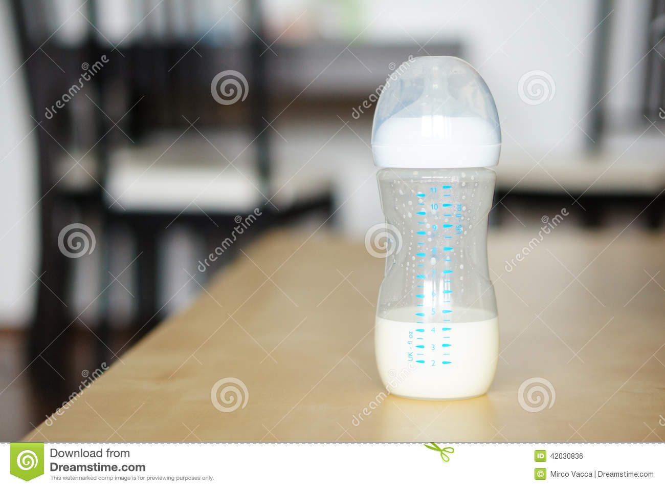 Remarkable Almost Empty Baby Bottle Stock Photo Image Of Baby Table Home Interior And Landscaping Spoatsignezvosmurscom