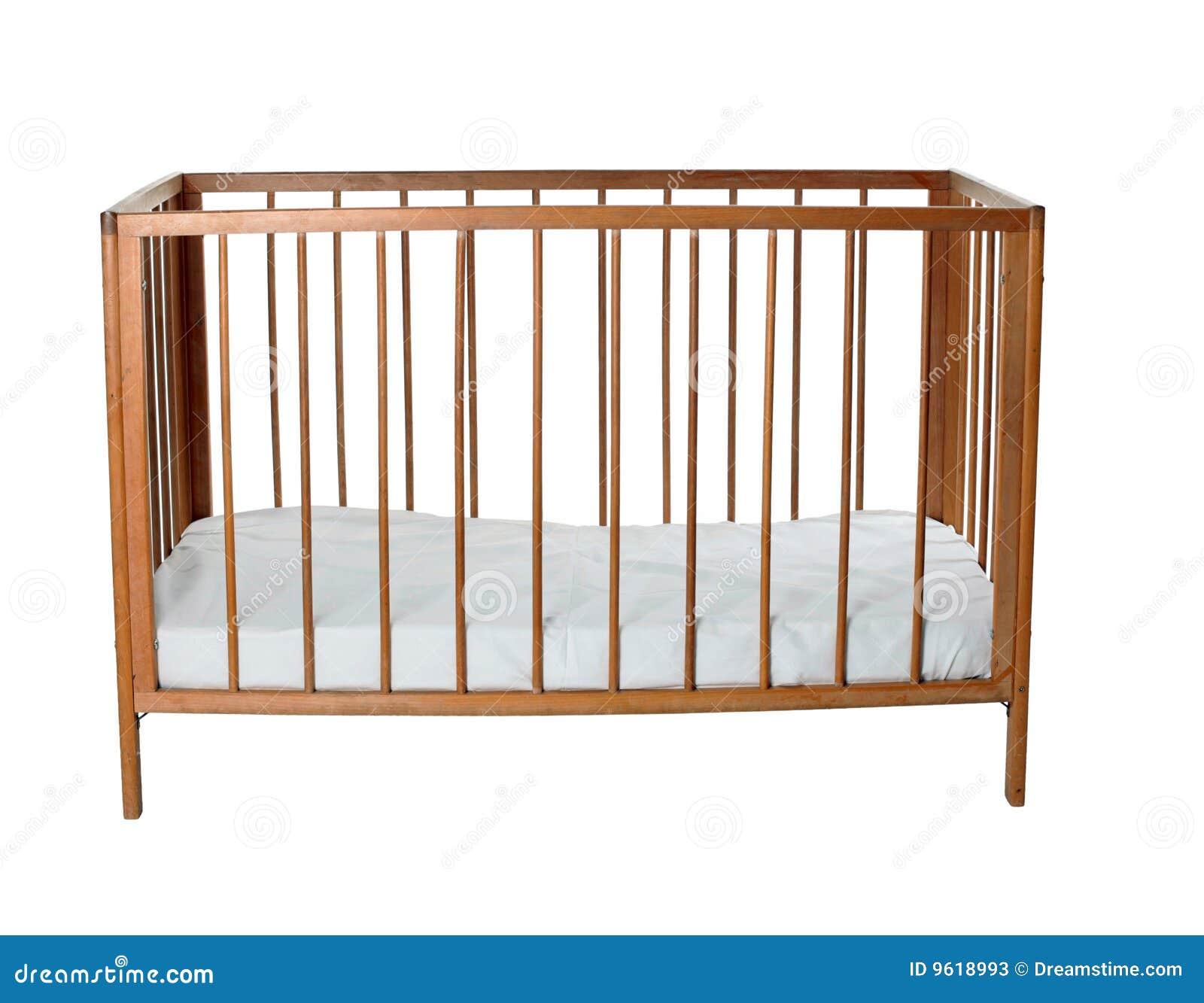 Baby Cradle Wooden Bassinet