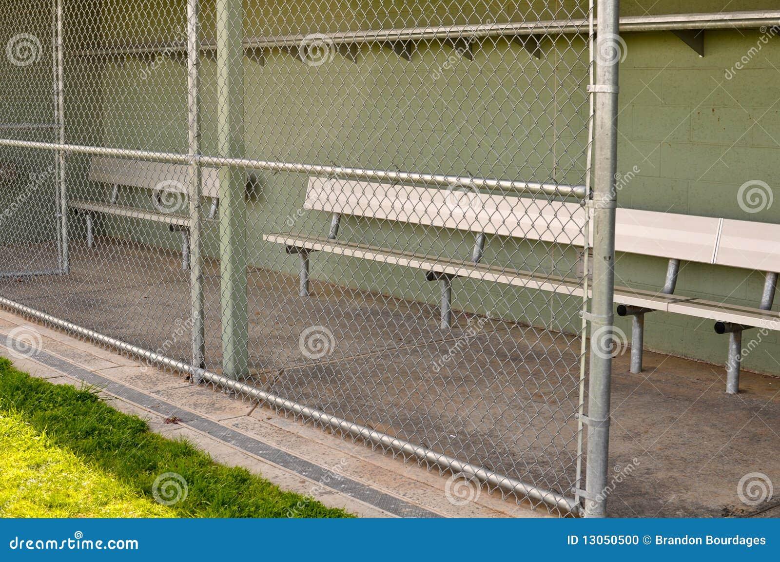 Empty Baseball Dugout Stock Photo Image Of Summer Link 13050500