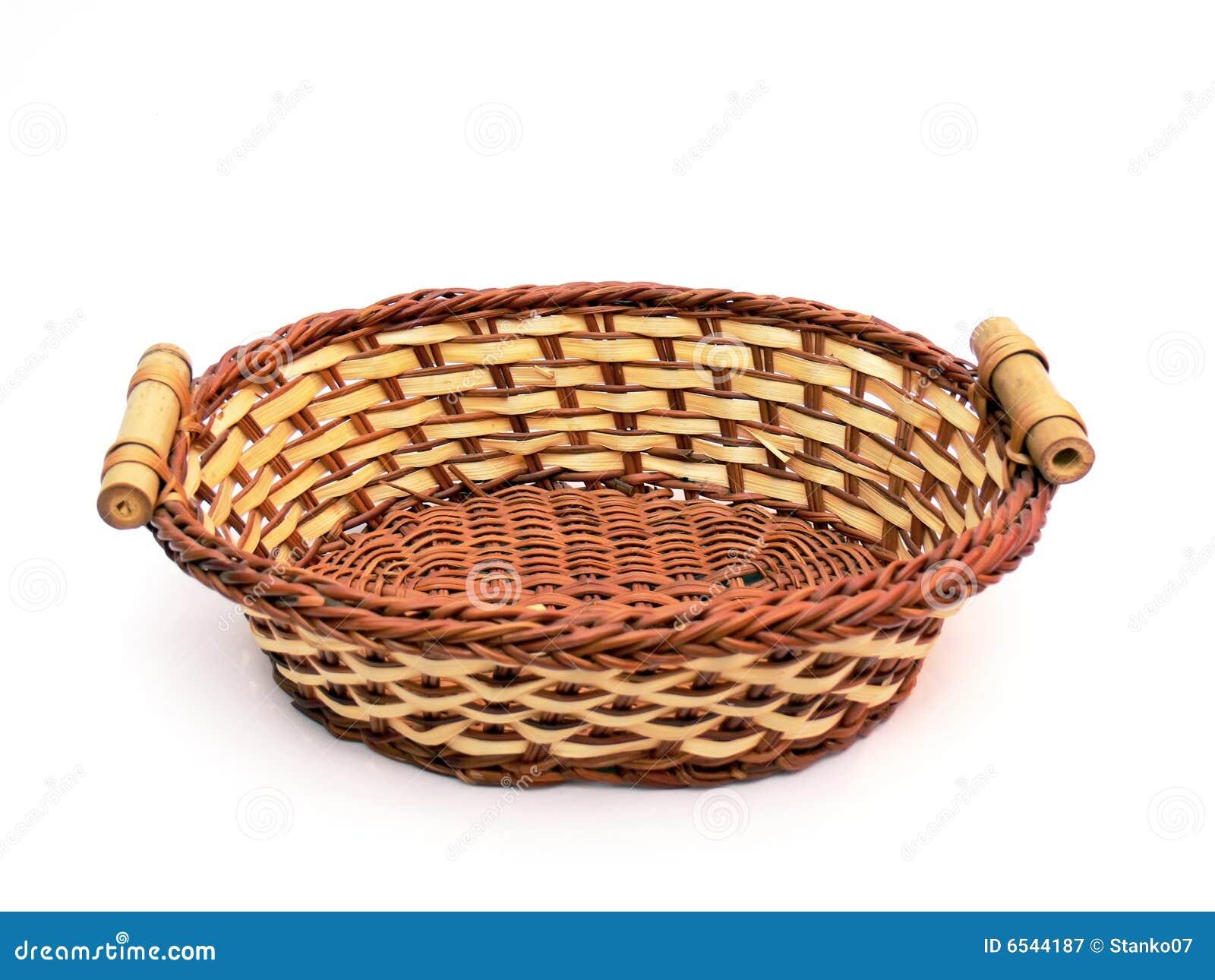 Empty Fruit Basket Clipart