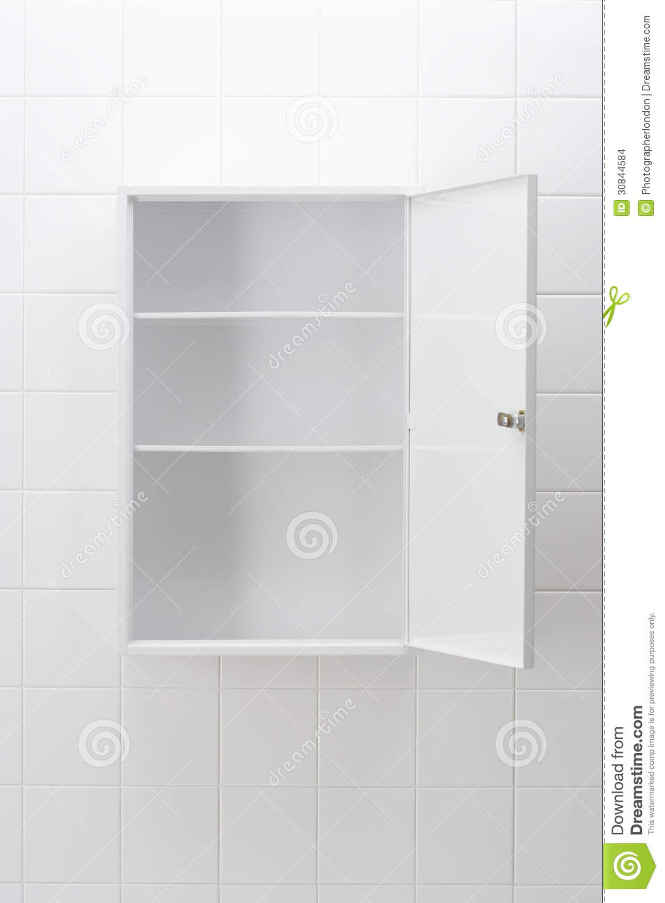 Empty Bathroom Cabinet Stock Images - Image: 30844584