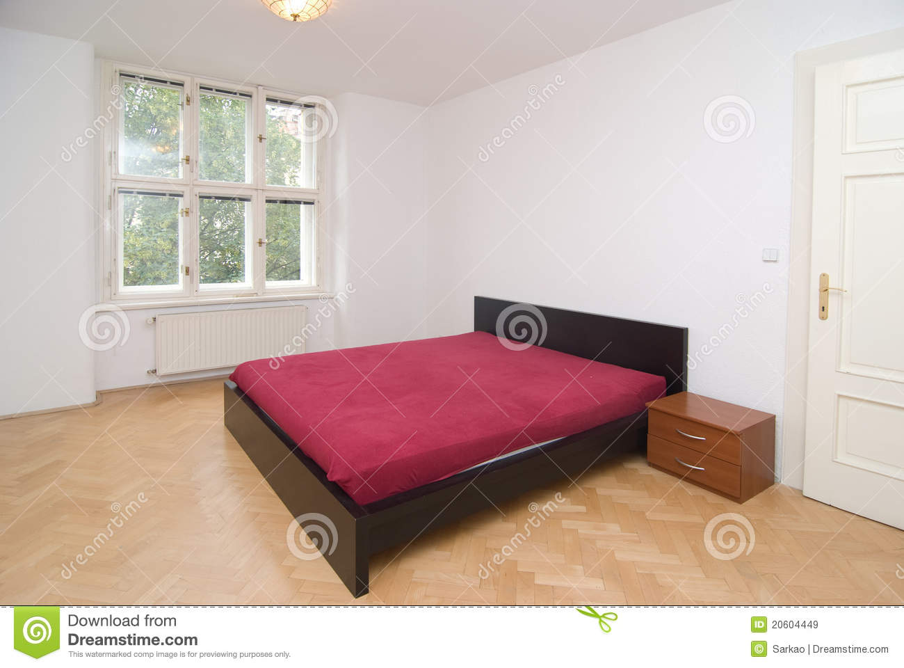 Empty bedroom royalty free stock images image 20604449 - Image bed room ...