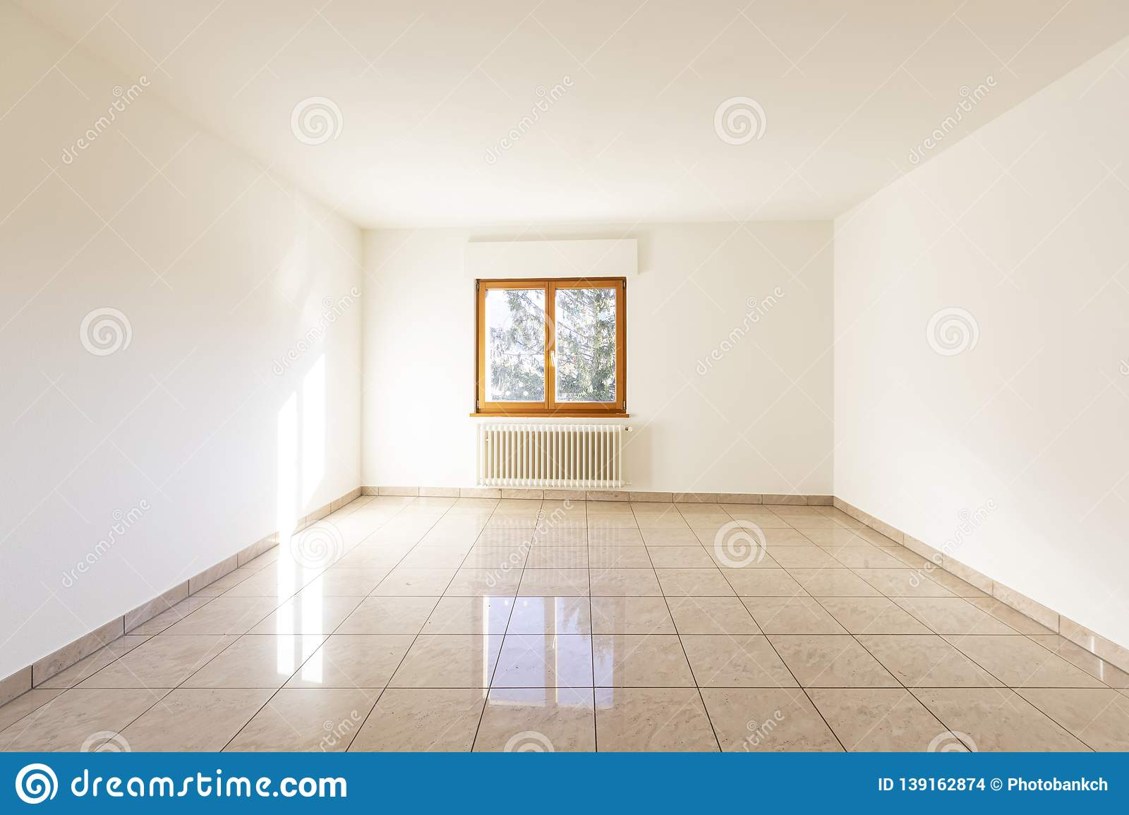 Empty Bedroom Without Bed And Window Stock Photo Image Of Empty