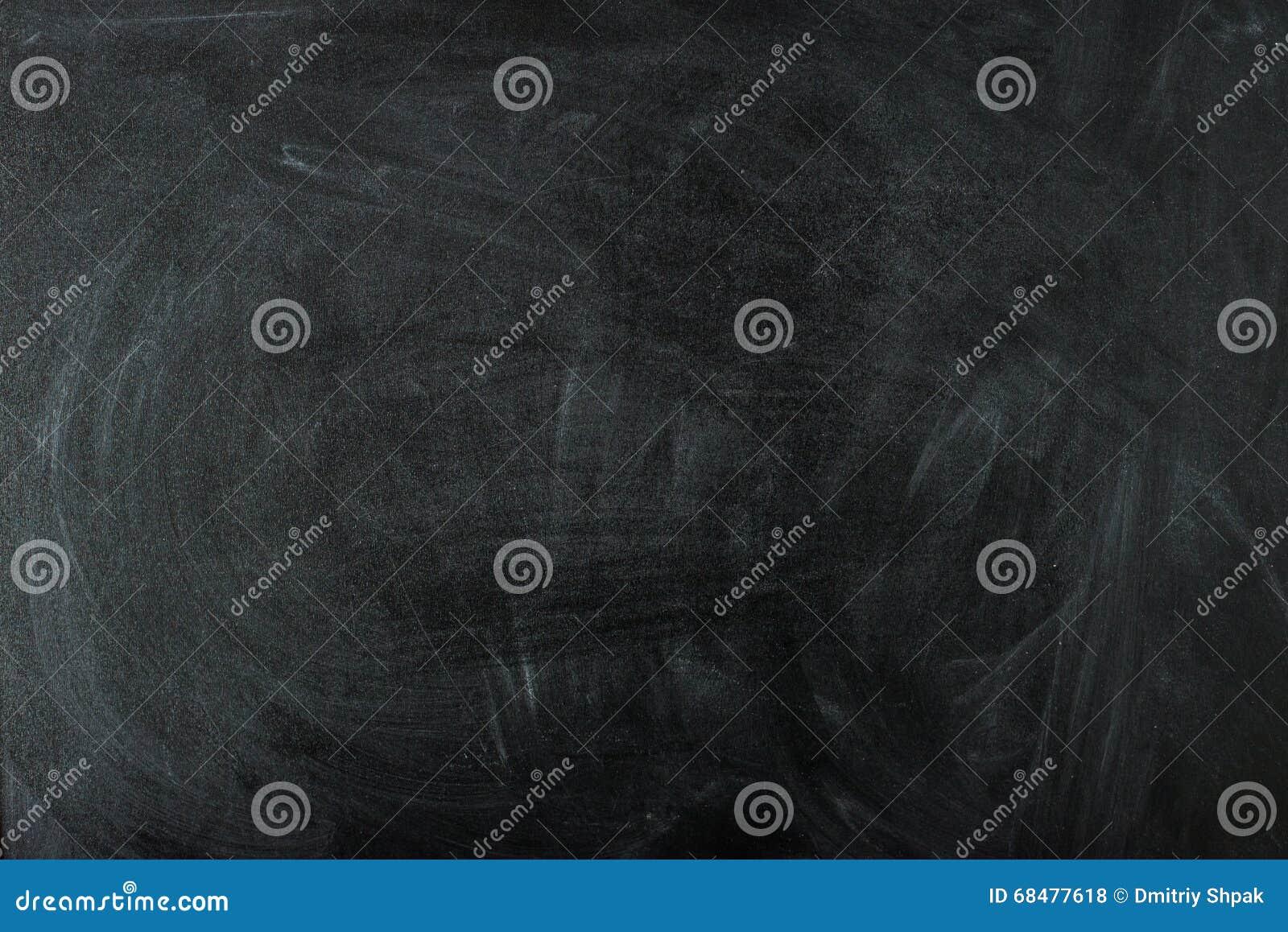 Empty black chalk board surface