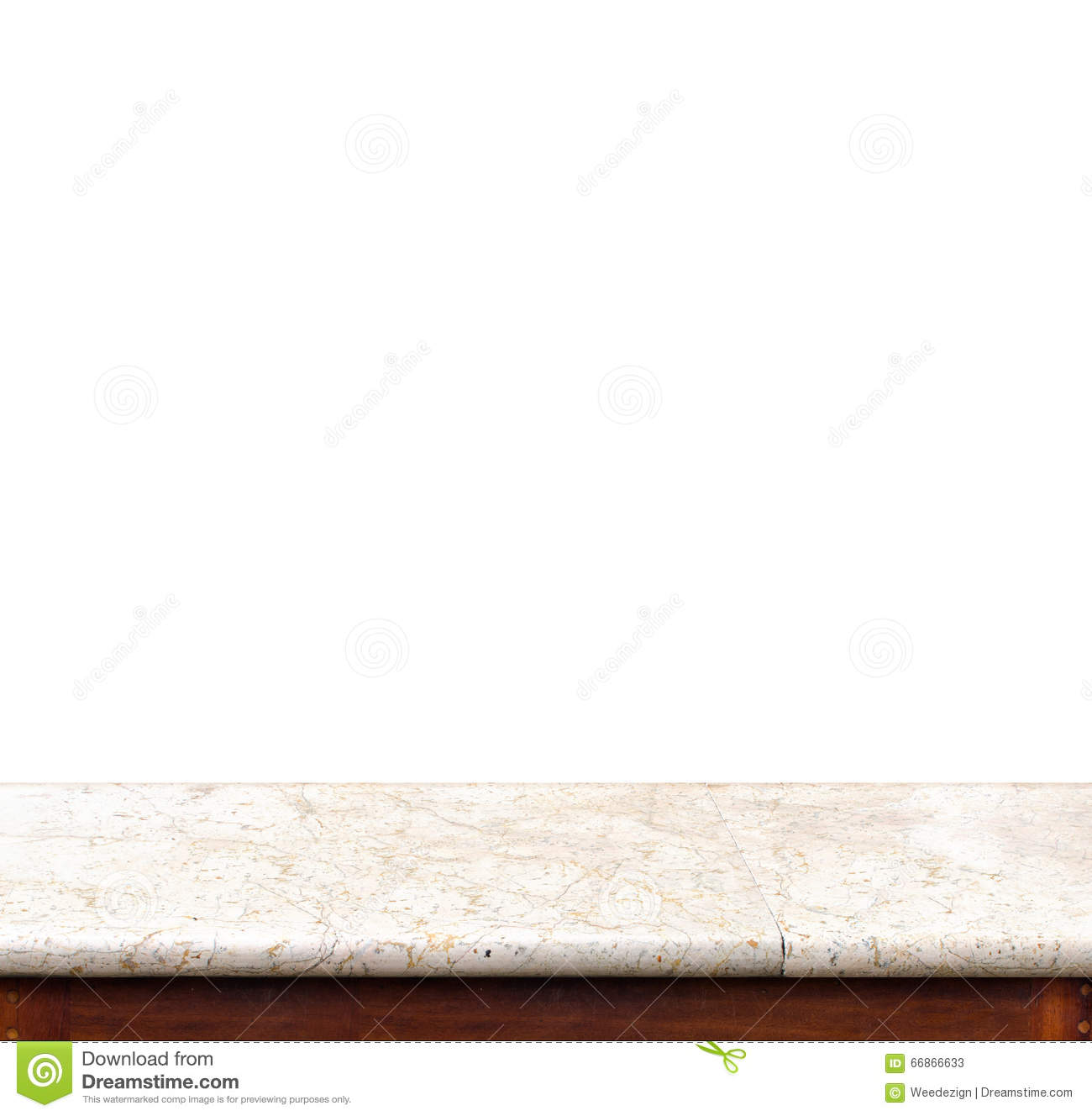 White marble table tops - Empty Black Marble Table Top Isolate On White Background Leave