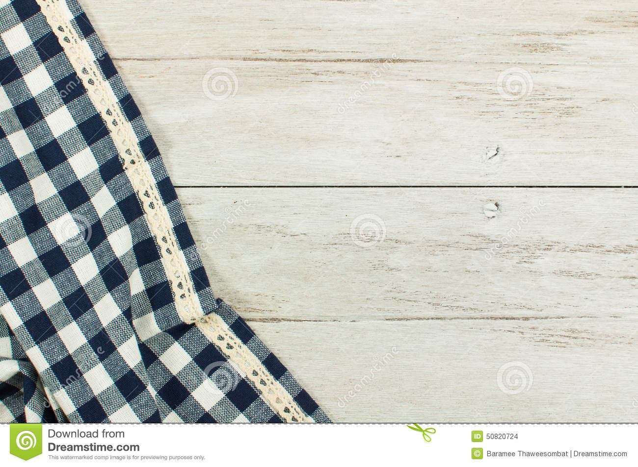 Picnic Table Background empty picnic table blue white tablecloth background stock photos