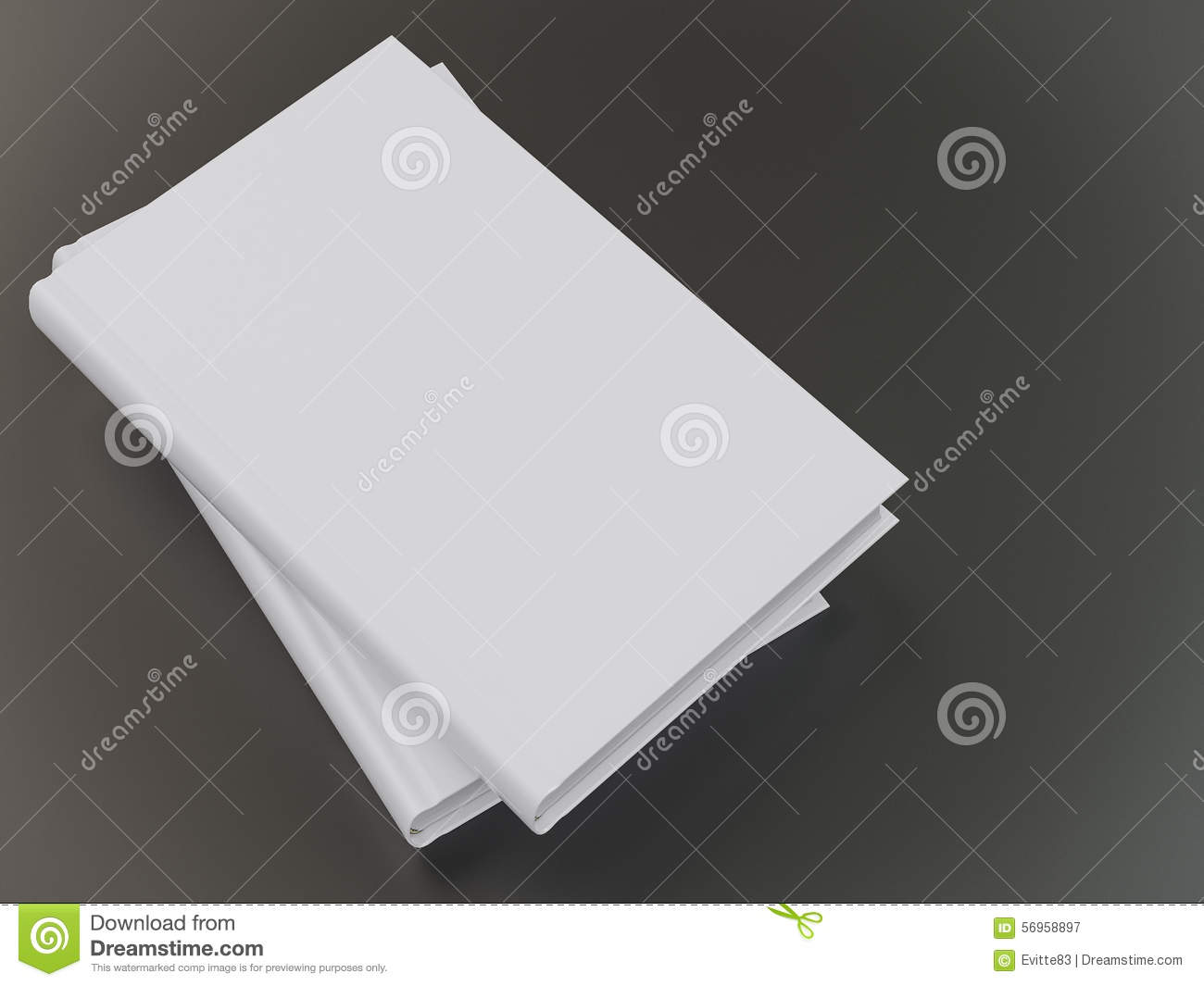 empty book mockup template stock image image of copy 56958897