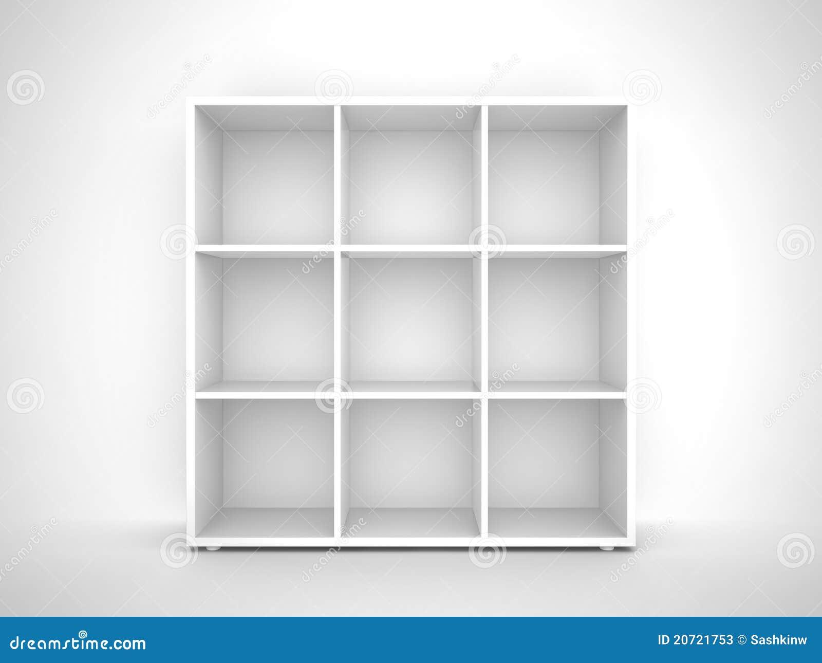Empty Bookshelf Stock Photos Image 20721753