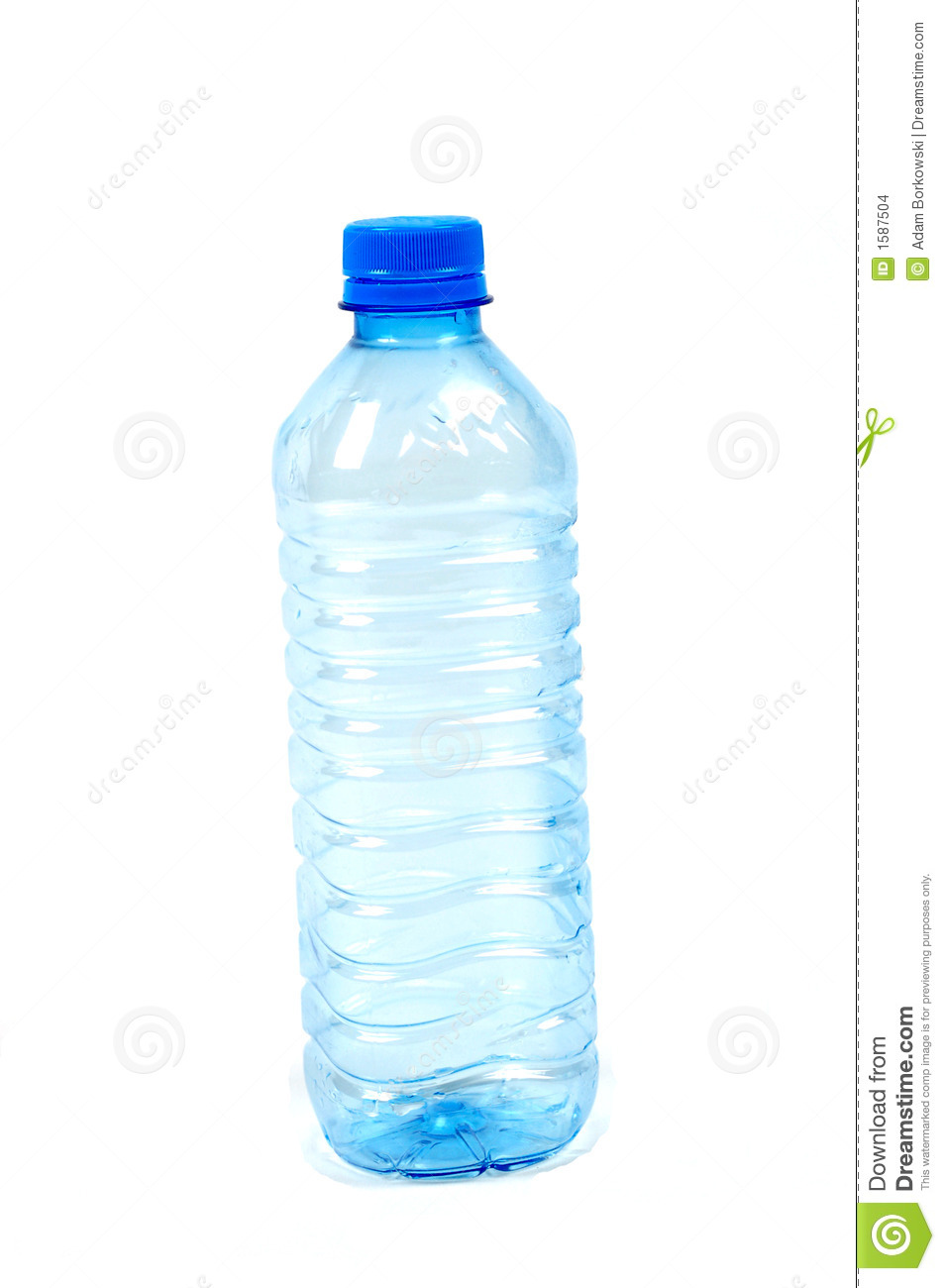 Empty Bottle Stock Images - Image: 1587504