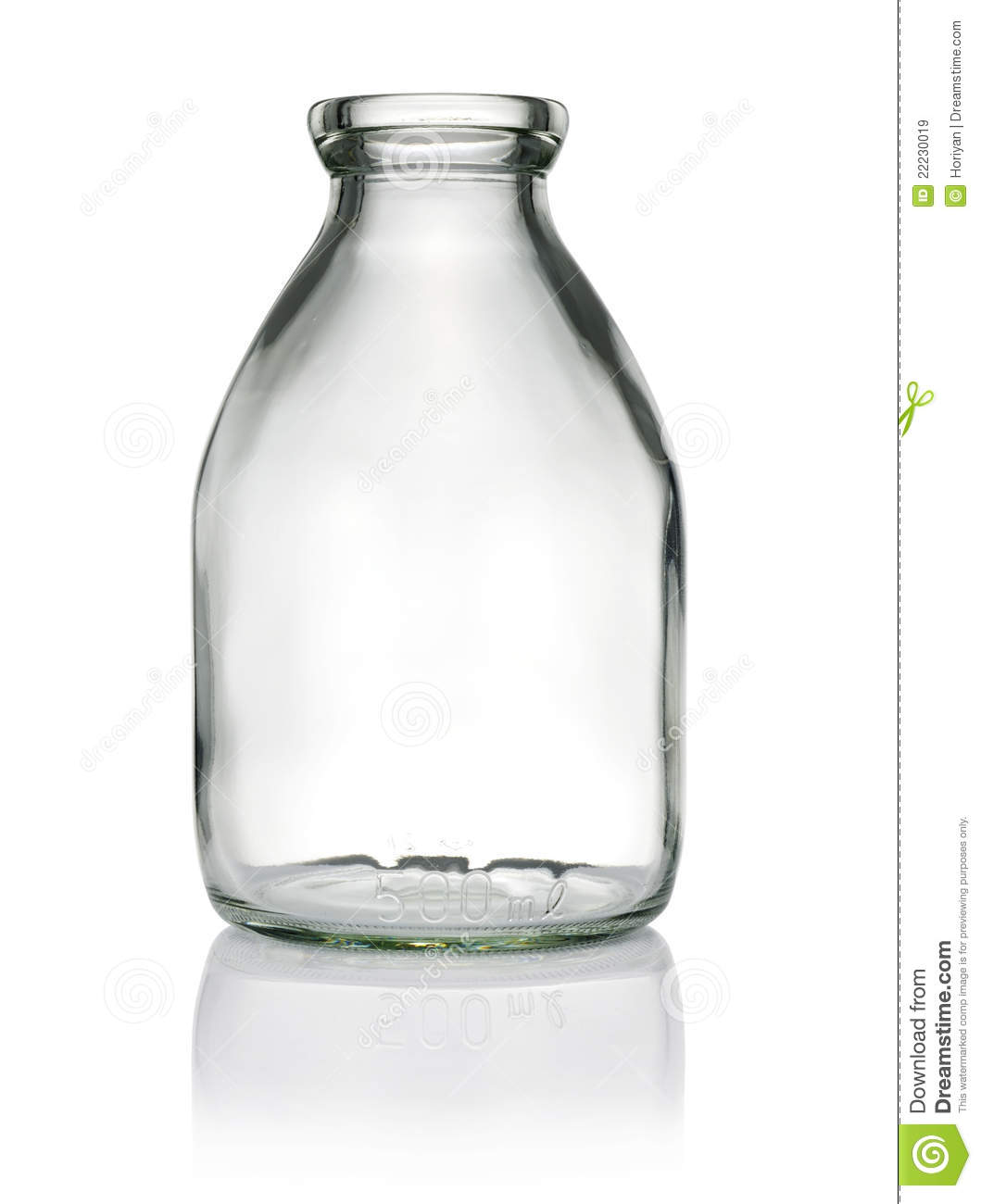 Empty Bottle Royalty Free Stock Images - Image: 22230019