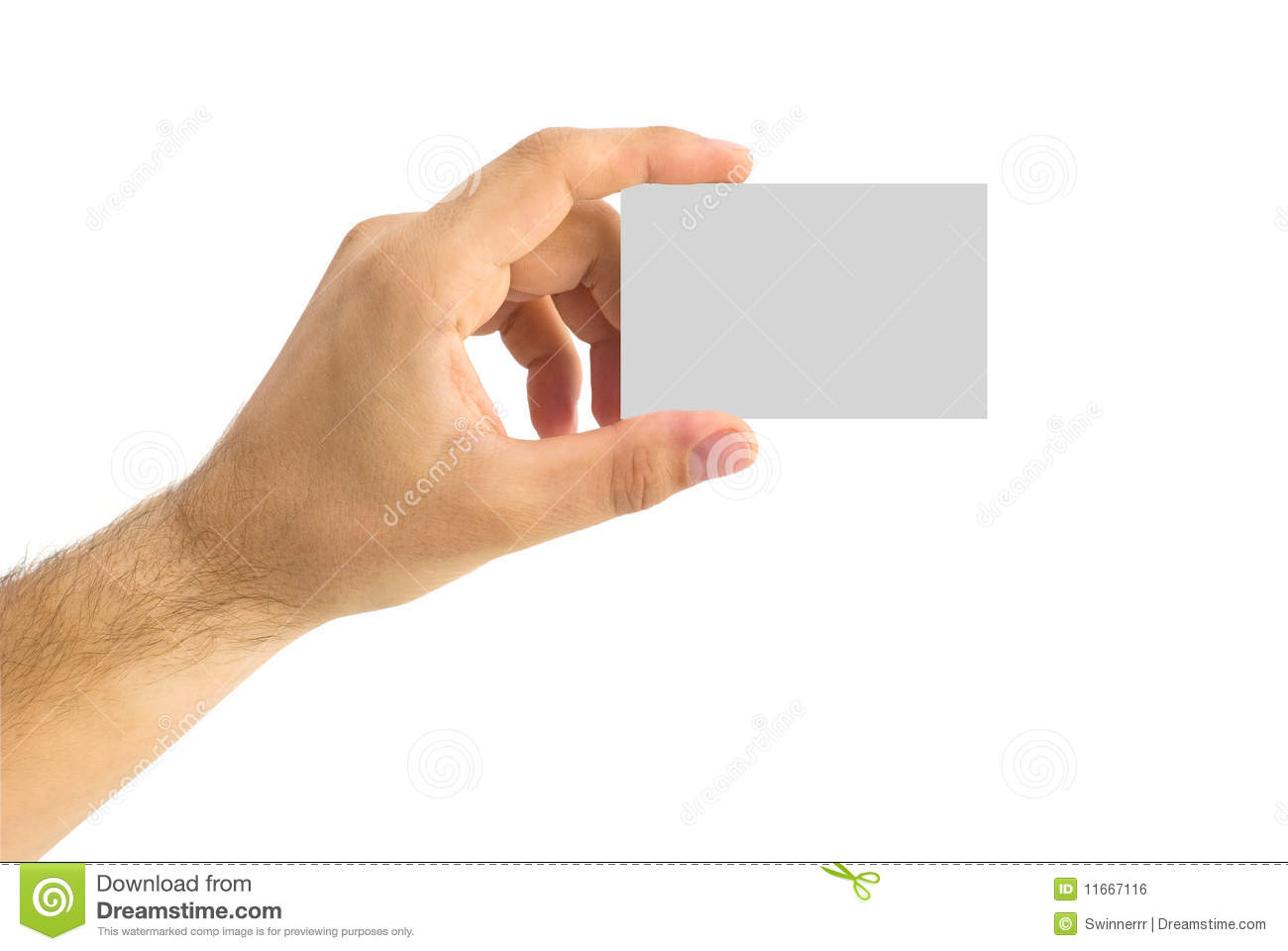 Empty business card in a human hand stock photo image 11667116 empty business card in a human hand magicingreecefo Choice Image