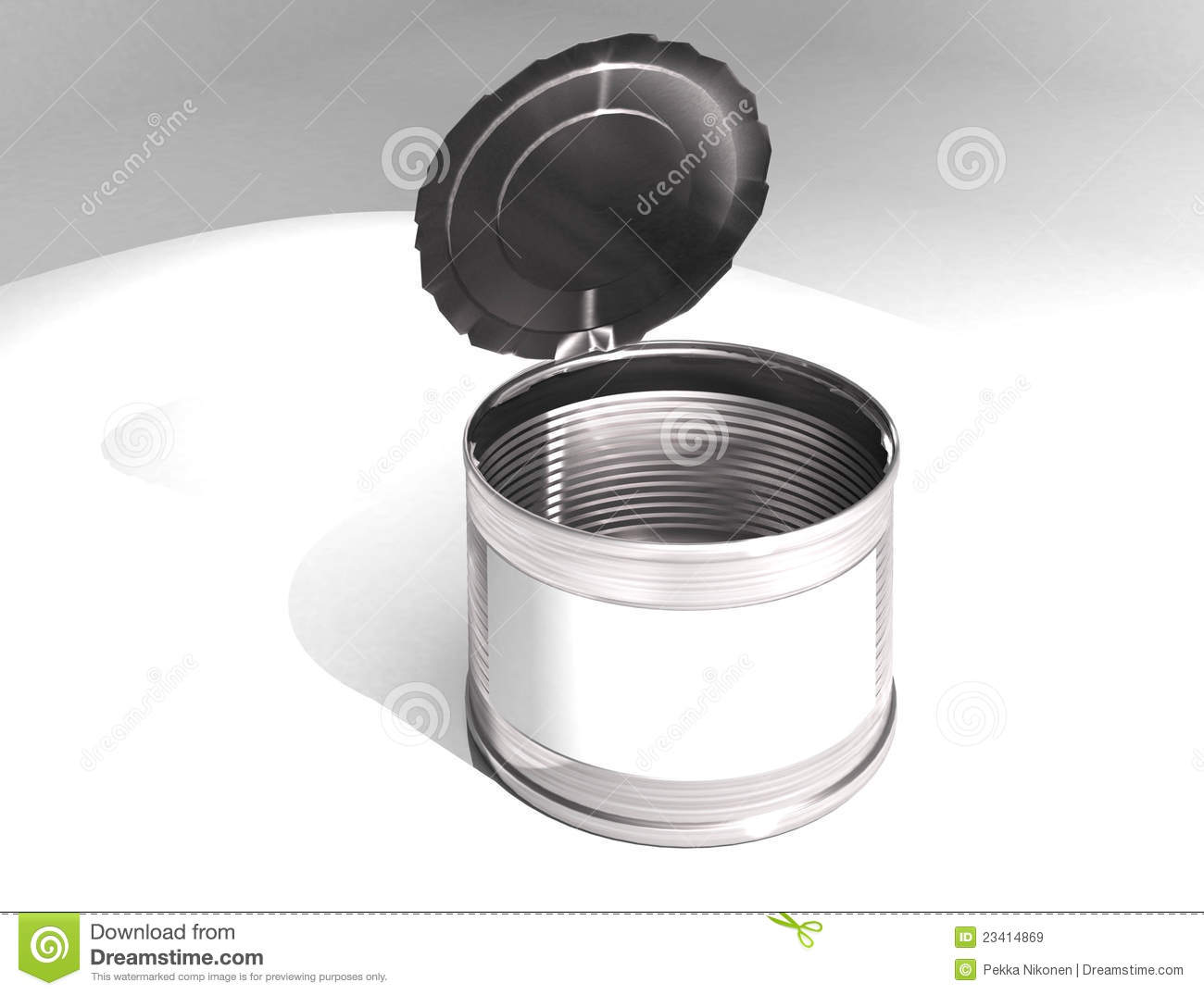 Empty can royalty free stock images image 23414869 for Empty sardine cans