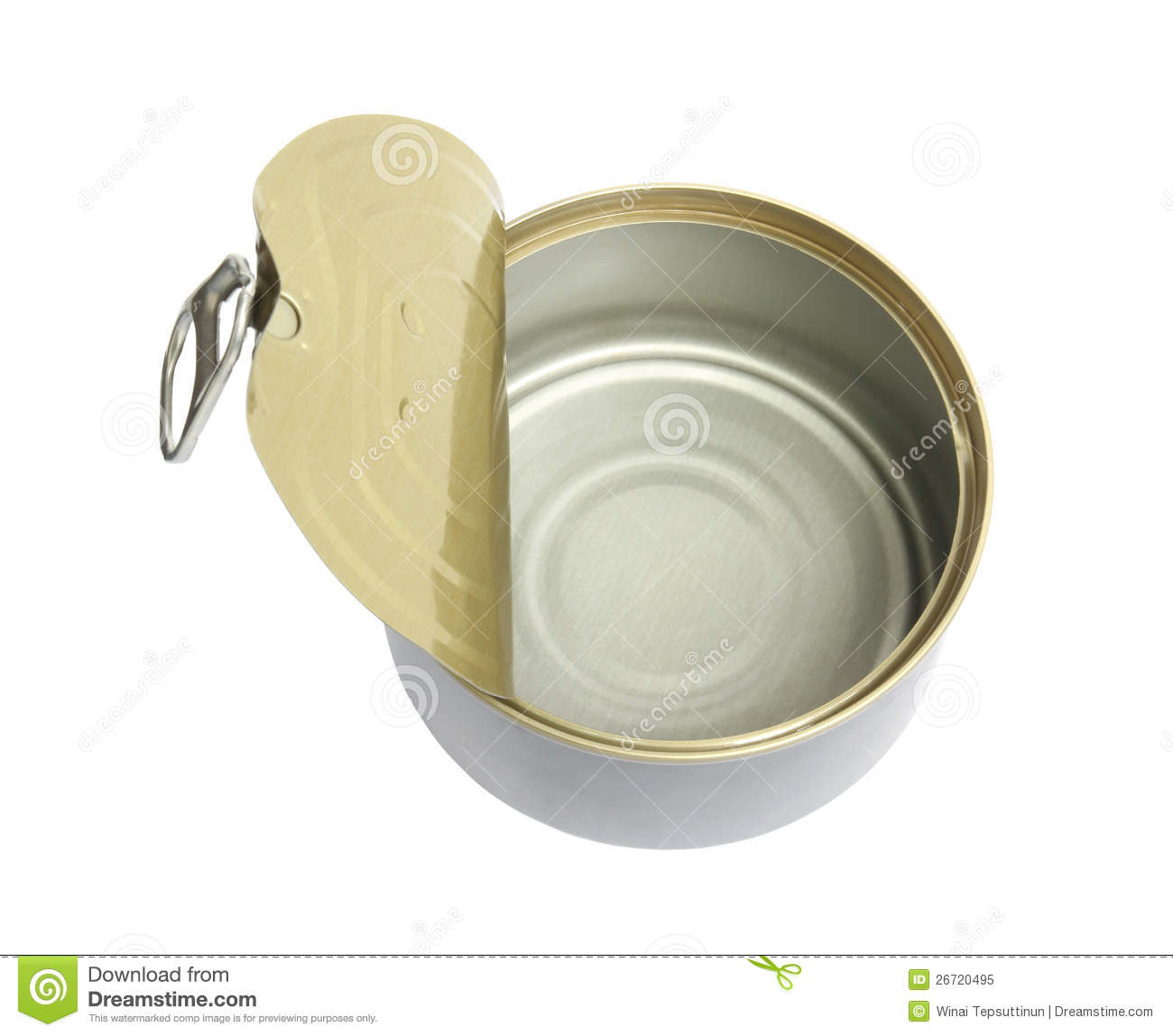 Empty can royalty free stock photo image 26720495 for Empty sardine cans