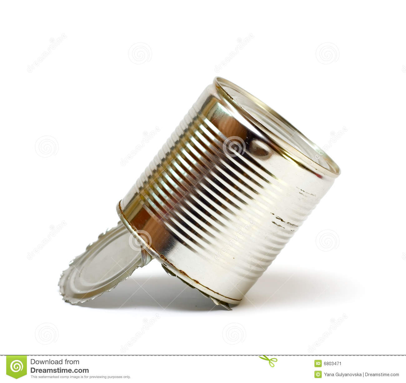 Empty can stock image image 6803471 for Empty sardine cans