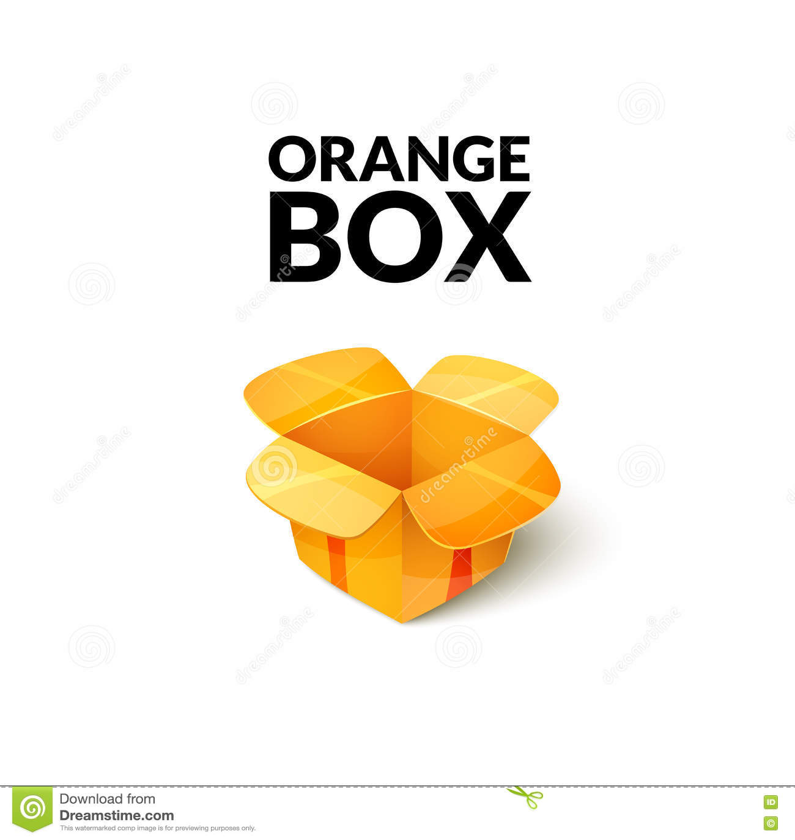 Empty Cardboard Packaging, Open Box Icon In Cartoon Style Stock ...