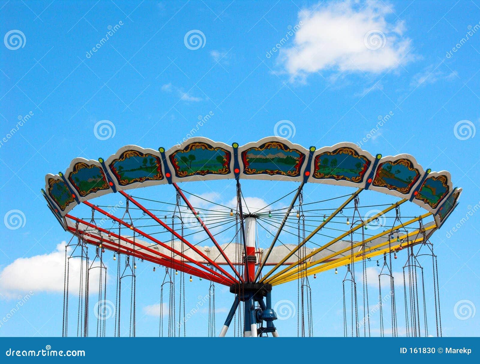 Empty carousel