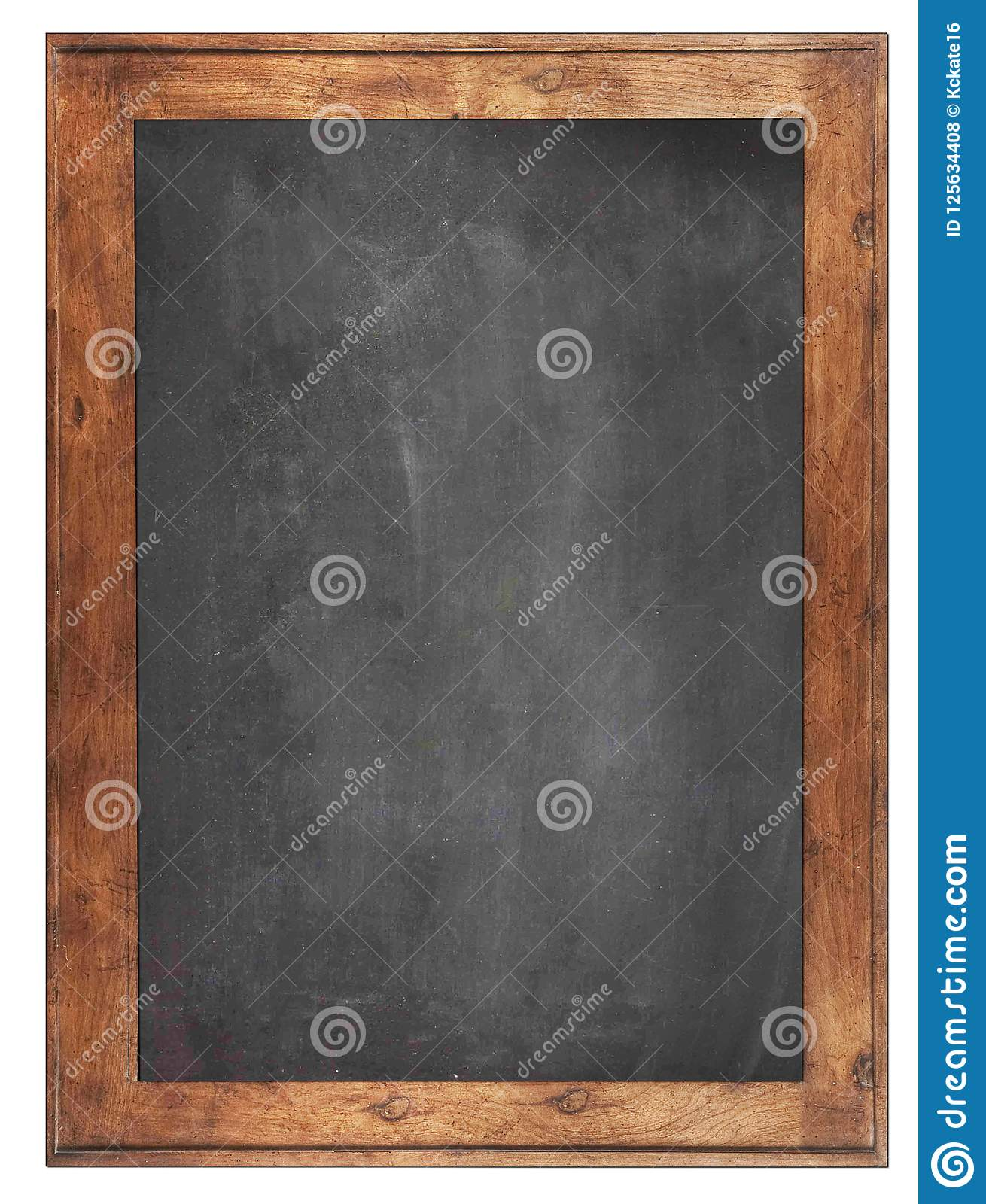 Empty Chalk board Background/Blank.Blackboard Background.