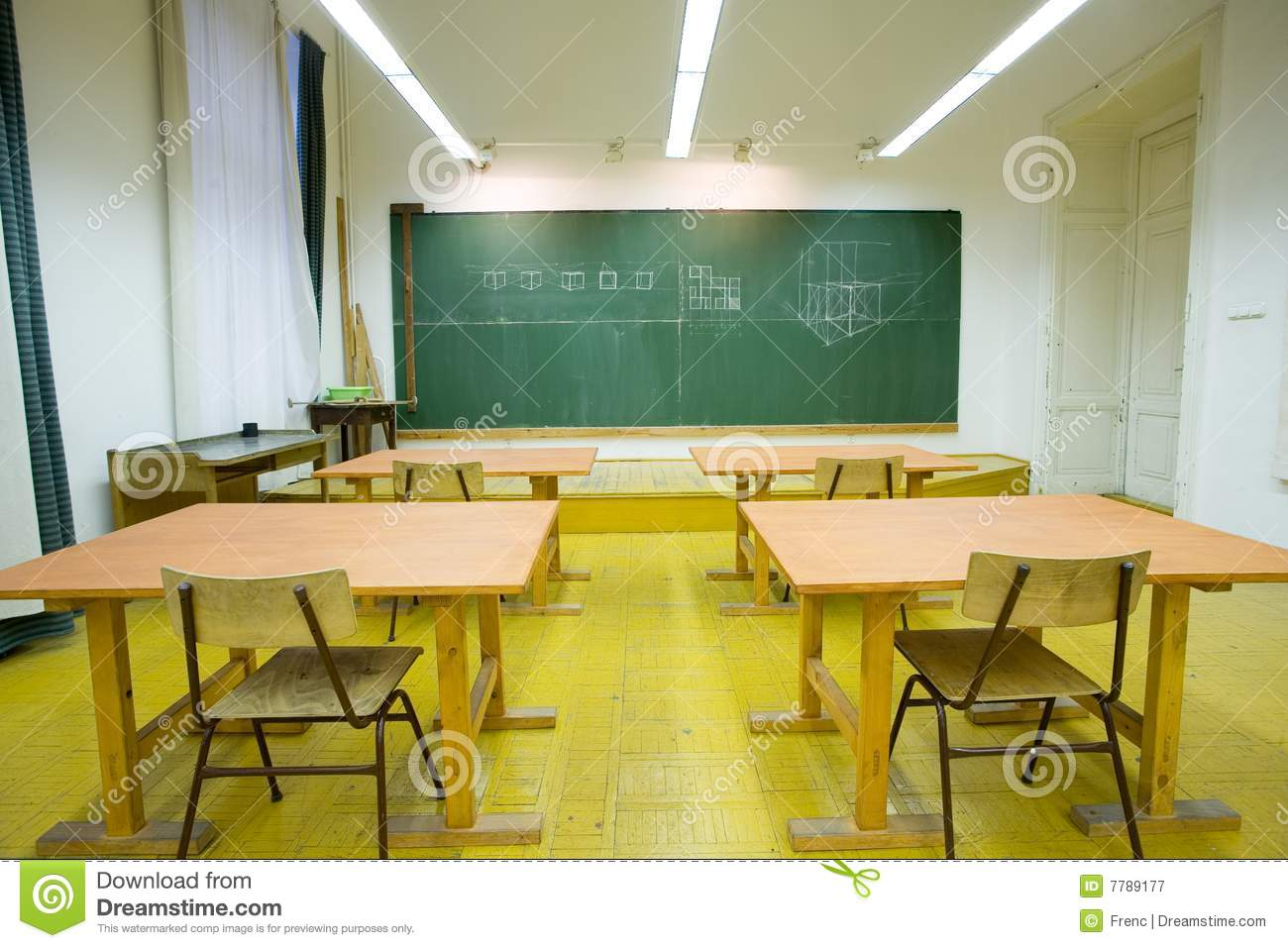 Classroom Ideas Tumblr ~ Empty classroom stock image of training chairs