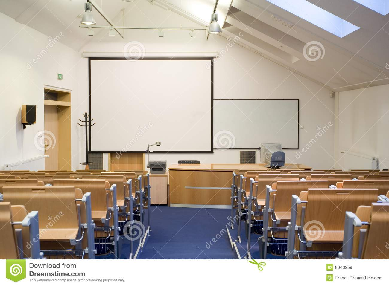 Empty Classroom Royalty Free Stock Images - Image: 8043959