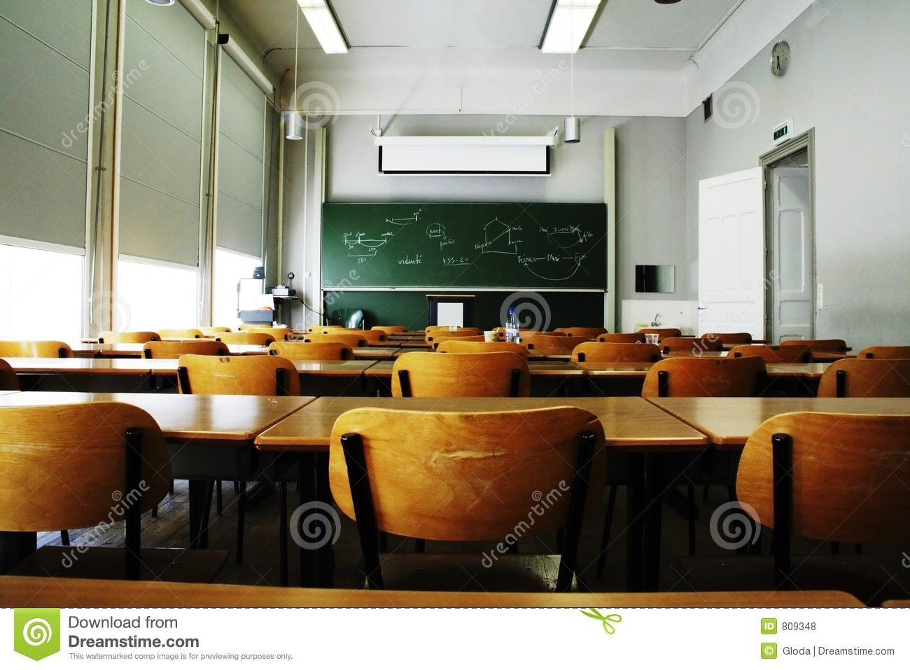 Empty Classroom Royalty Free Stock Photos Image 809348