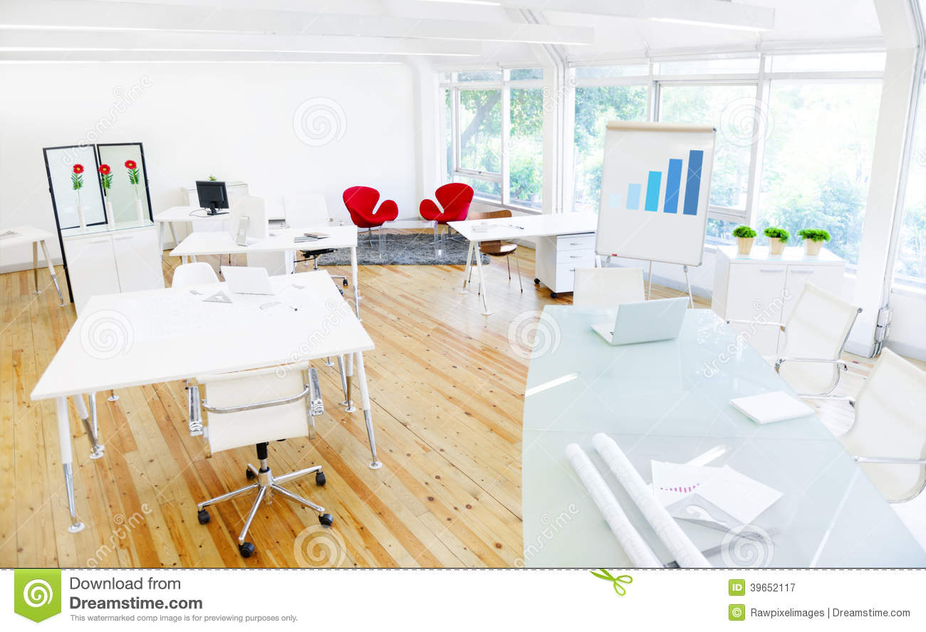 Empty Clean Office and a Board Room