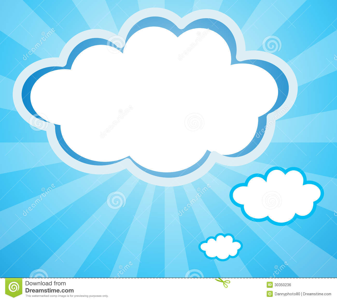 cloud template with lines - empty cloud templates royalty free stock image image