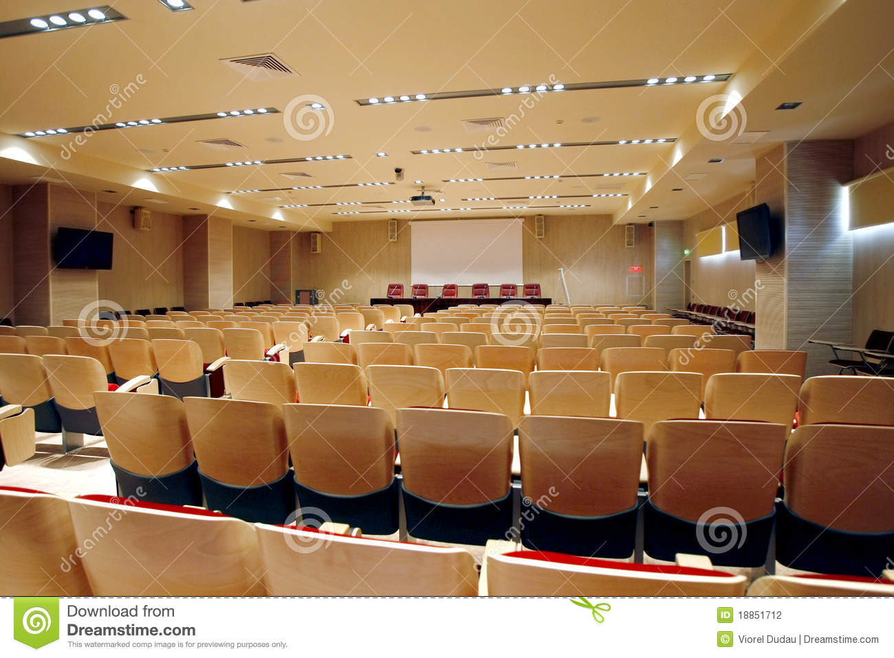 Empty Conference Hall Stock Photo Image Of Interior