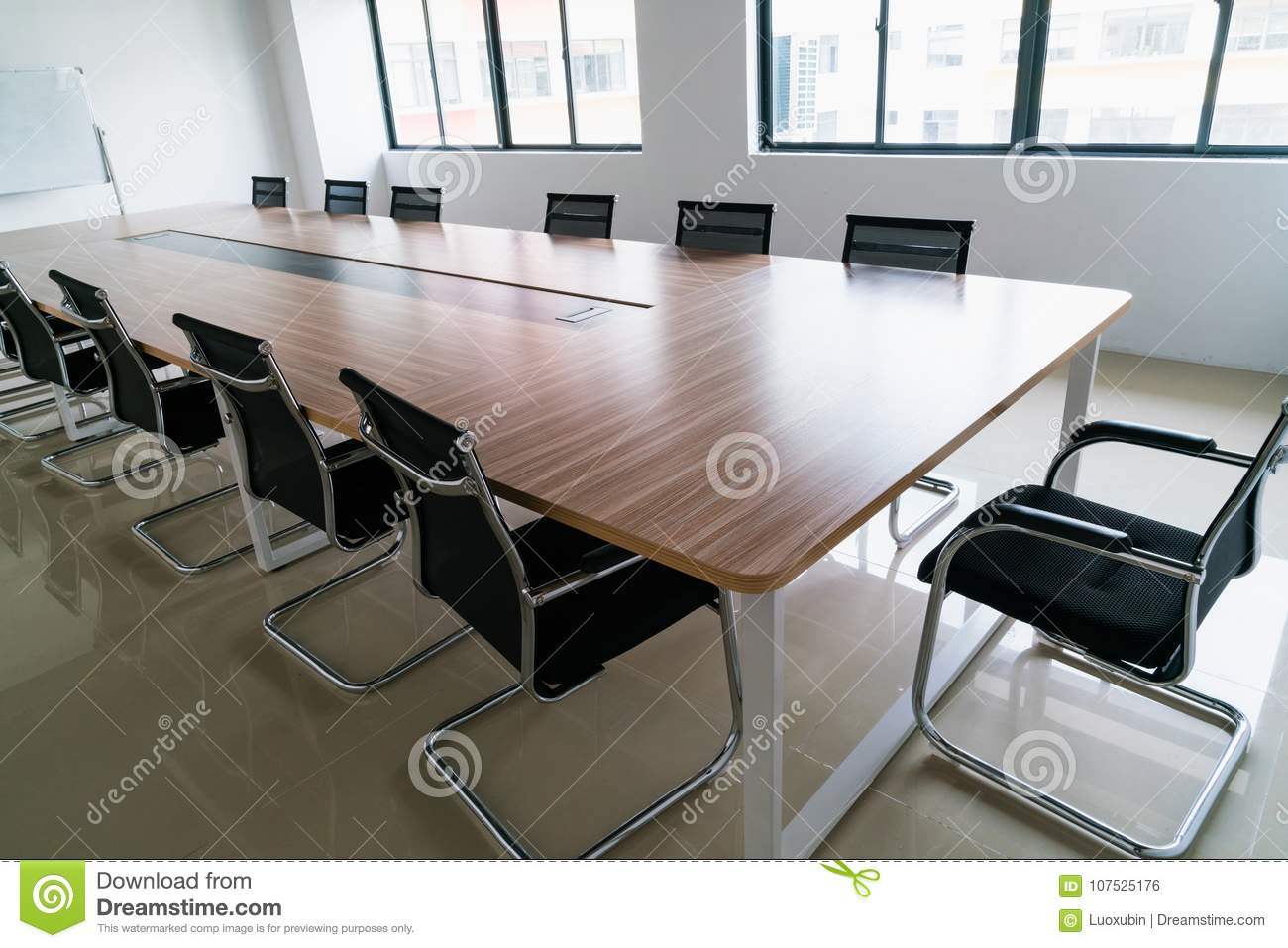Conference Room Stock Photo Image Of Office Decor 107525176