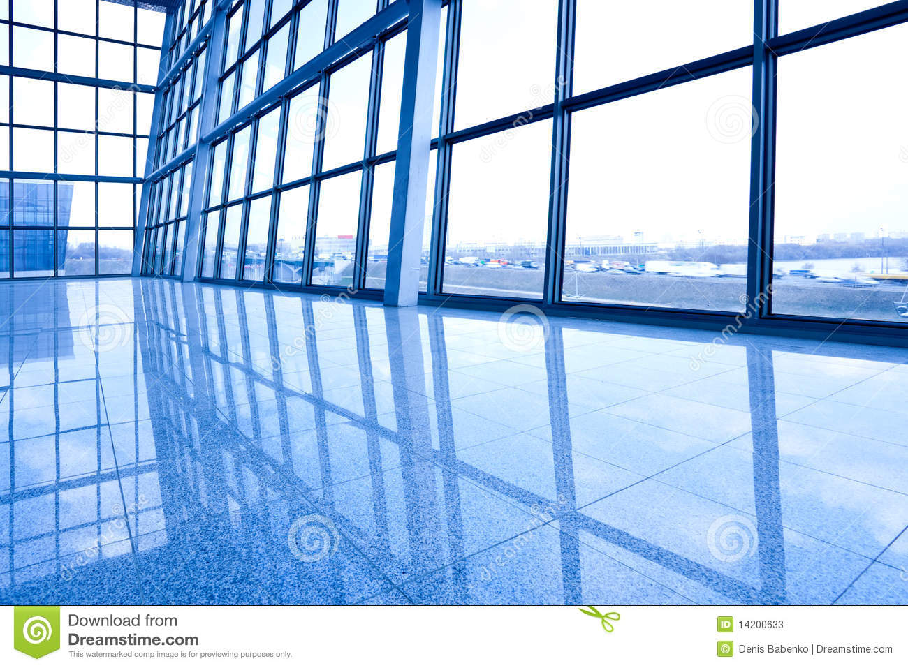 Empty Corner In Office Centre Stock Photos Image 14200633