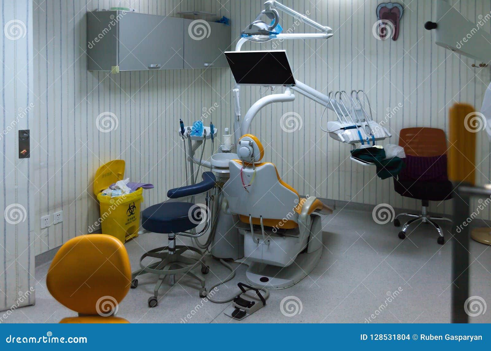 Empty Dentist Office, Medical Room