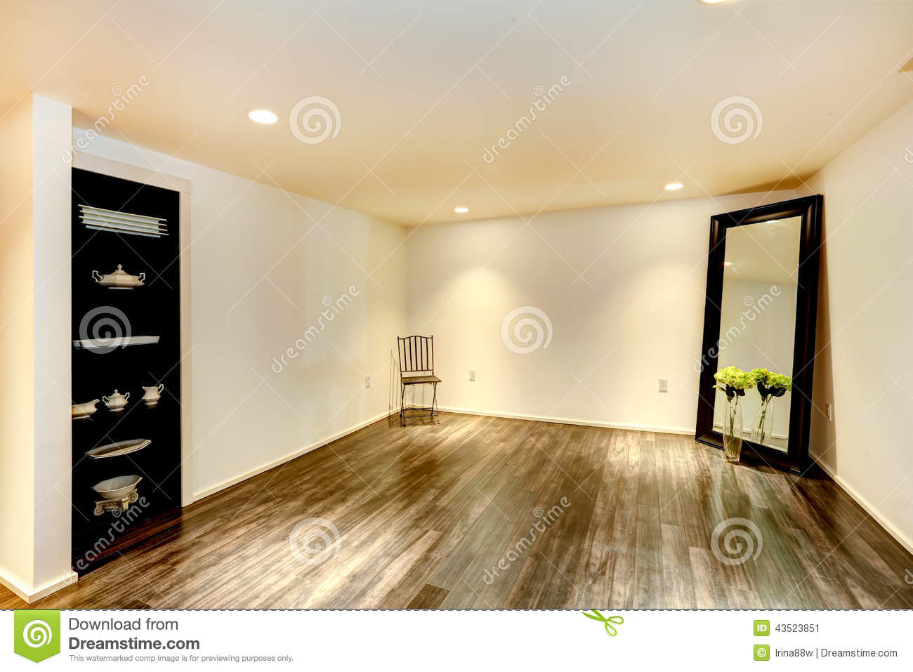 Empty Dining Room Stock Photos - Royalty Free Stock Images