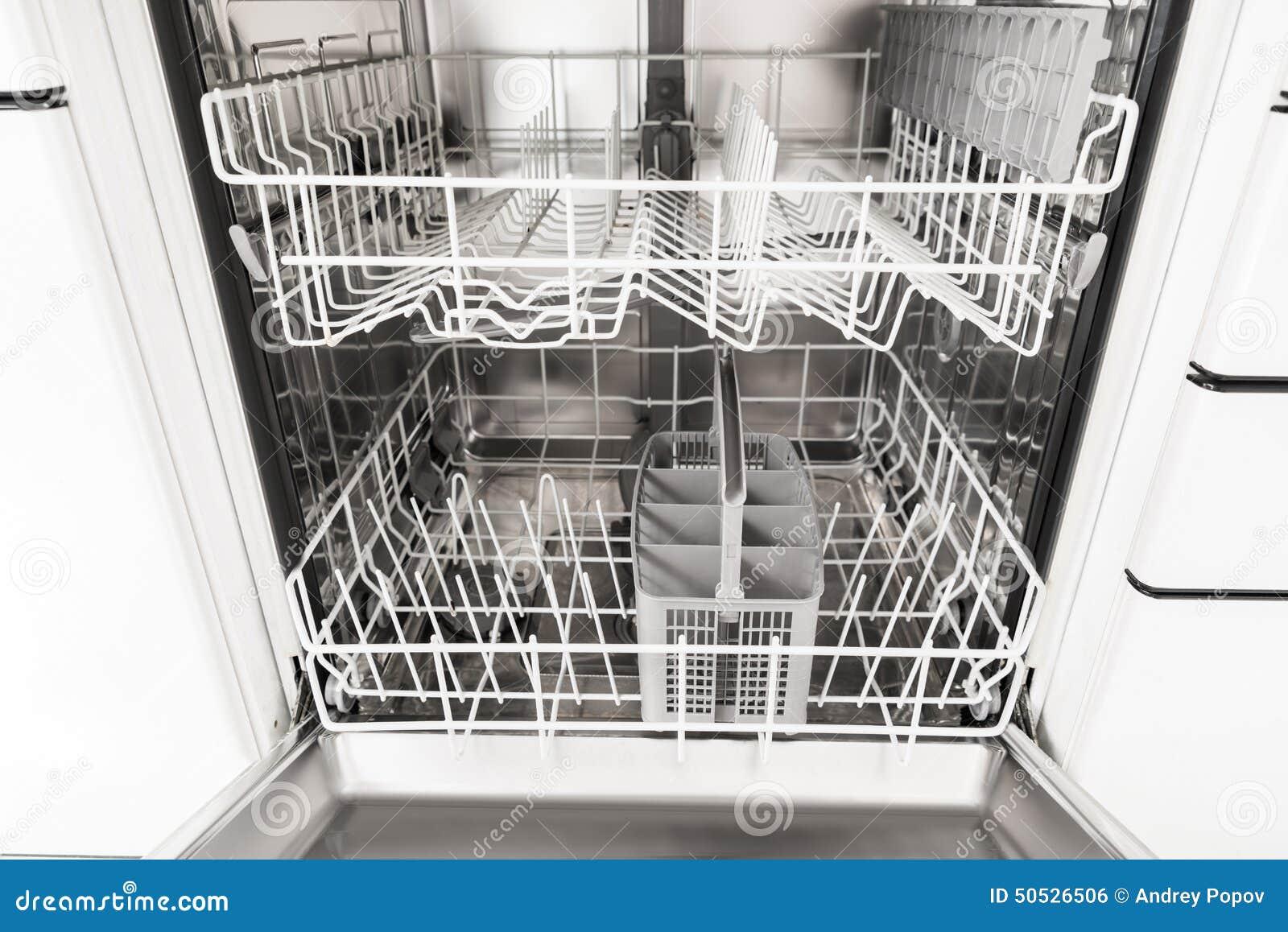 Empty Dishwasher Stock Photo Image Of Object Dishware