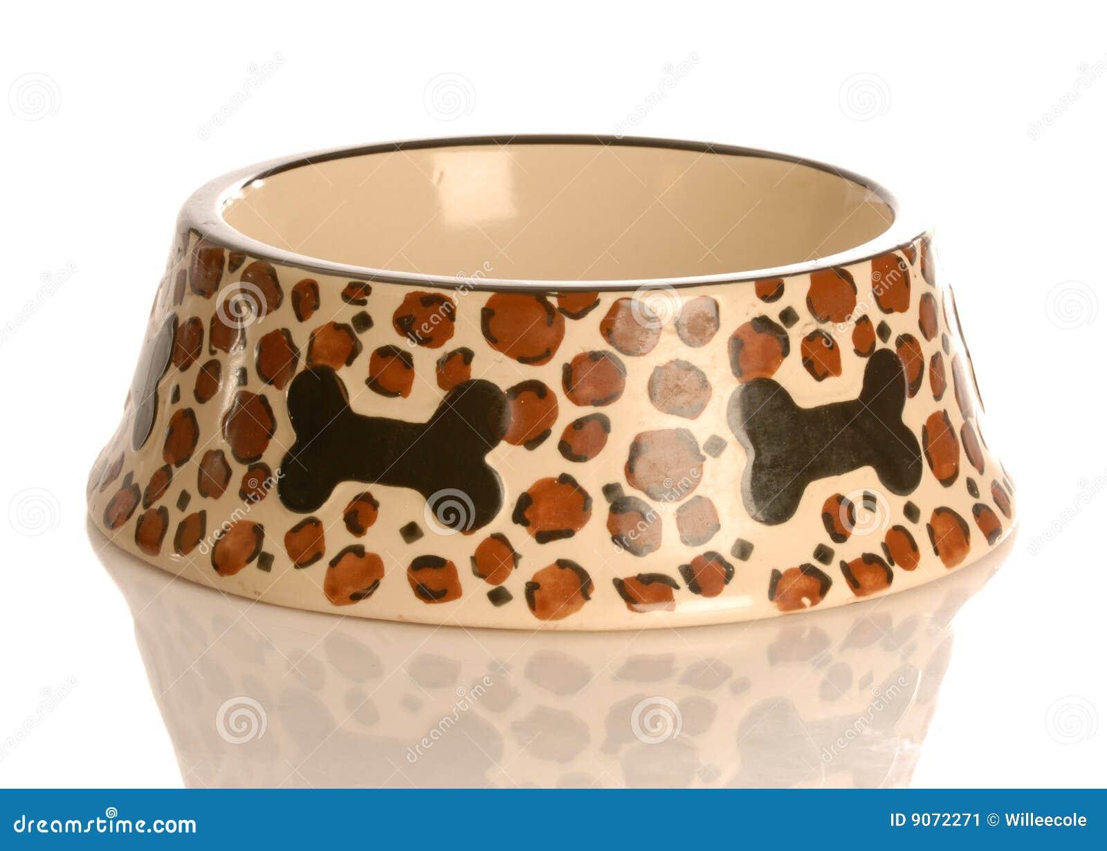 Empty Dog Food Bowl Stock Image - Image: 9072271